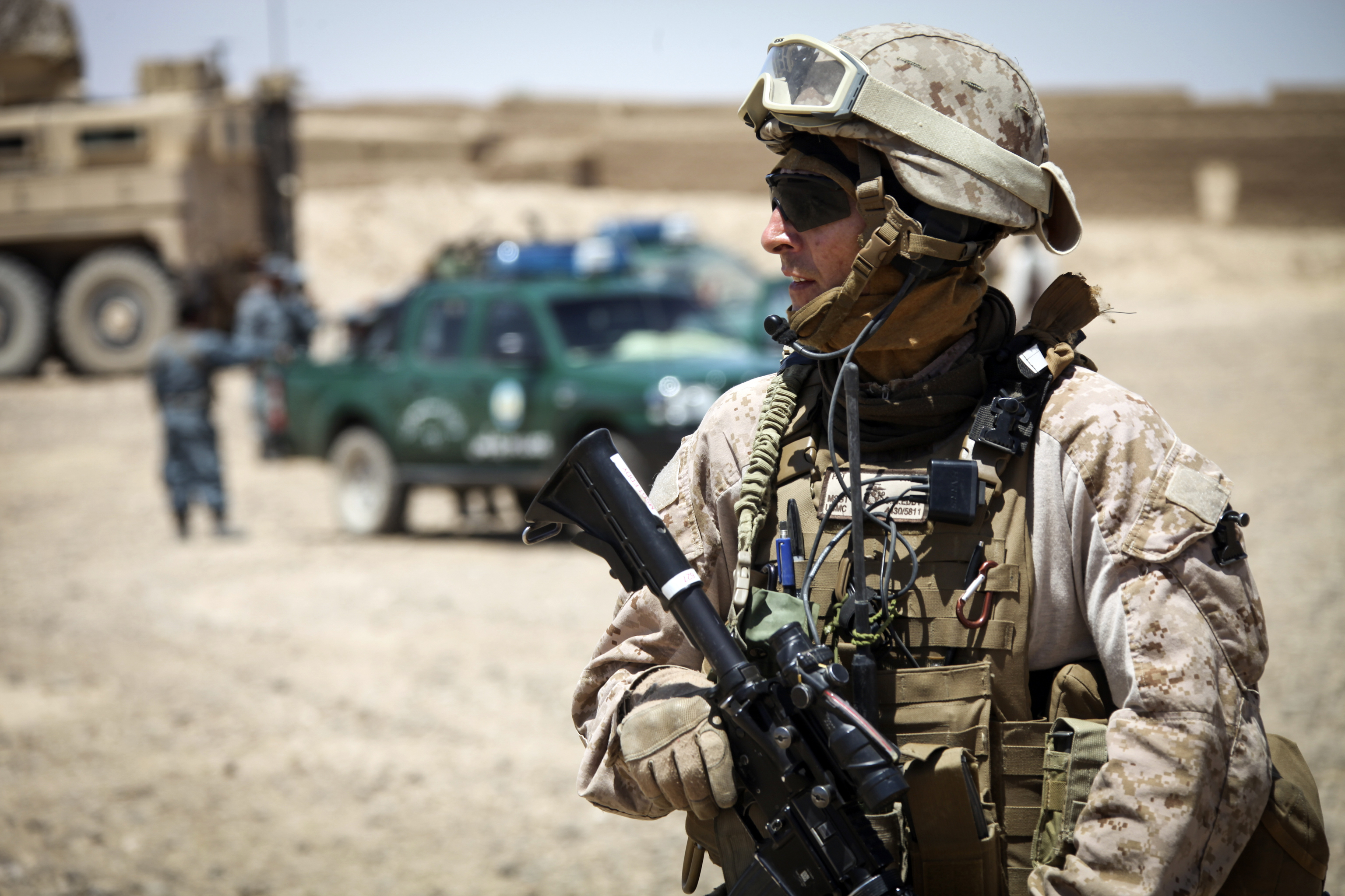 File:U.S. Marine Corps Master Sgt. Chad Eddy, assigned to Police ...
