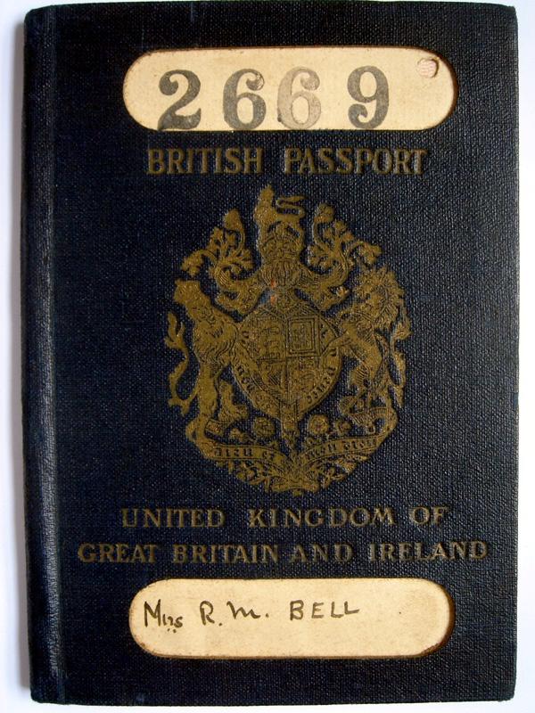 passport form british