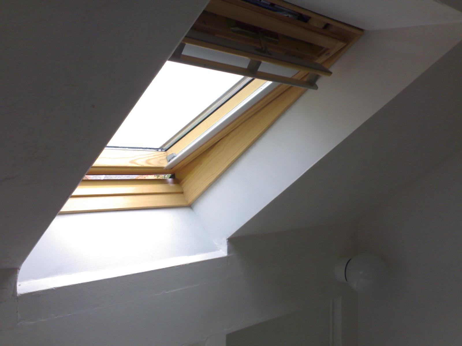 Velux Skylight In Living Rooms