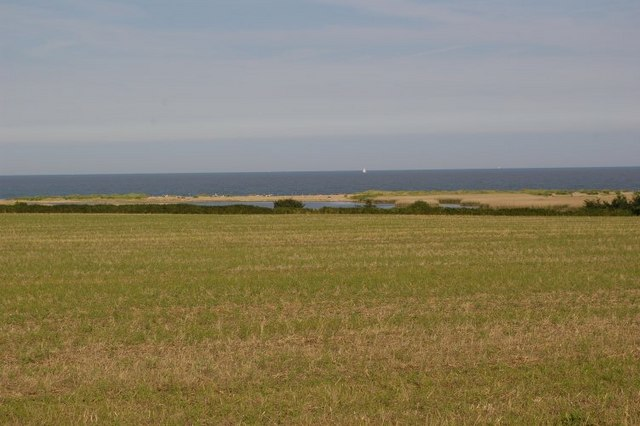 View across fields to Covehithe Broad - geograph.org.uk - 515106