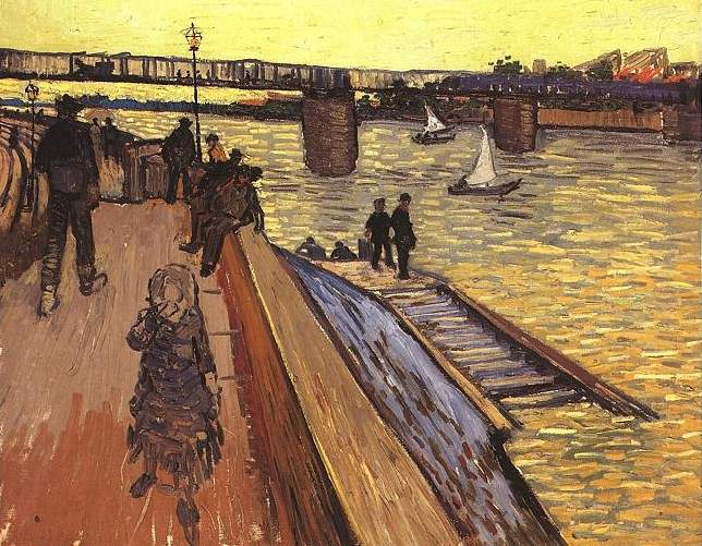 Vincent van Gogh - The Bridge at Trinquetaille