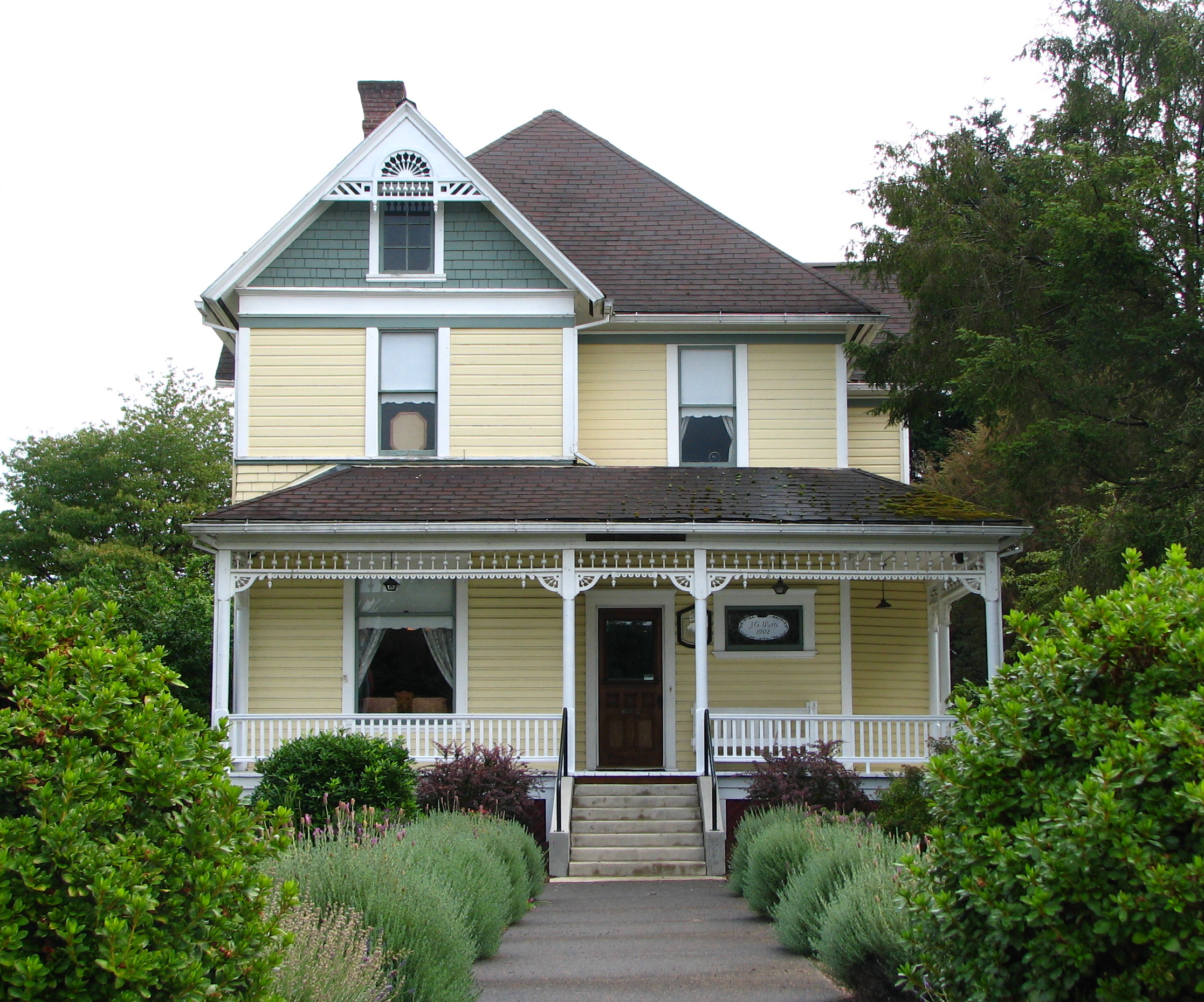 File watts house scappoose wikimedia commons for Building a home in oregon