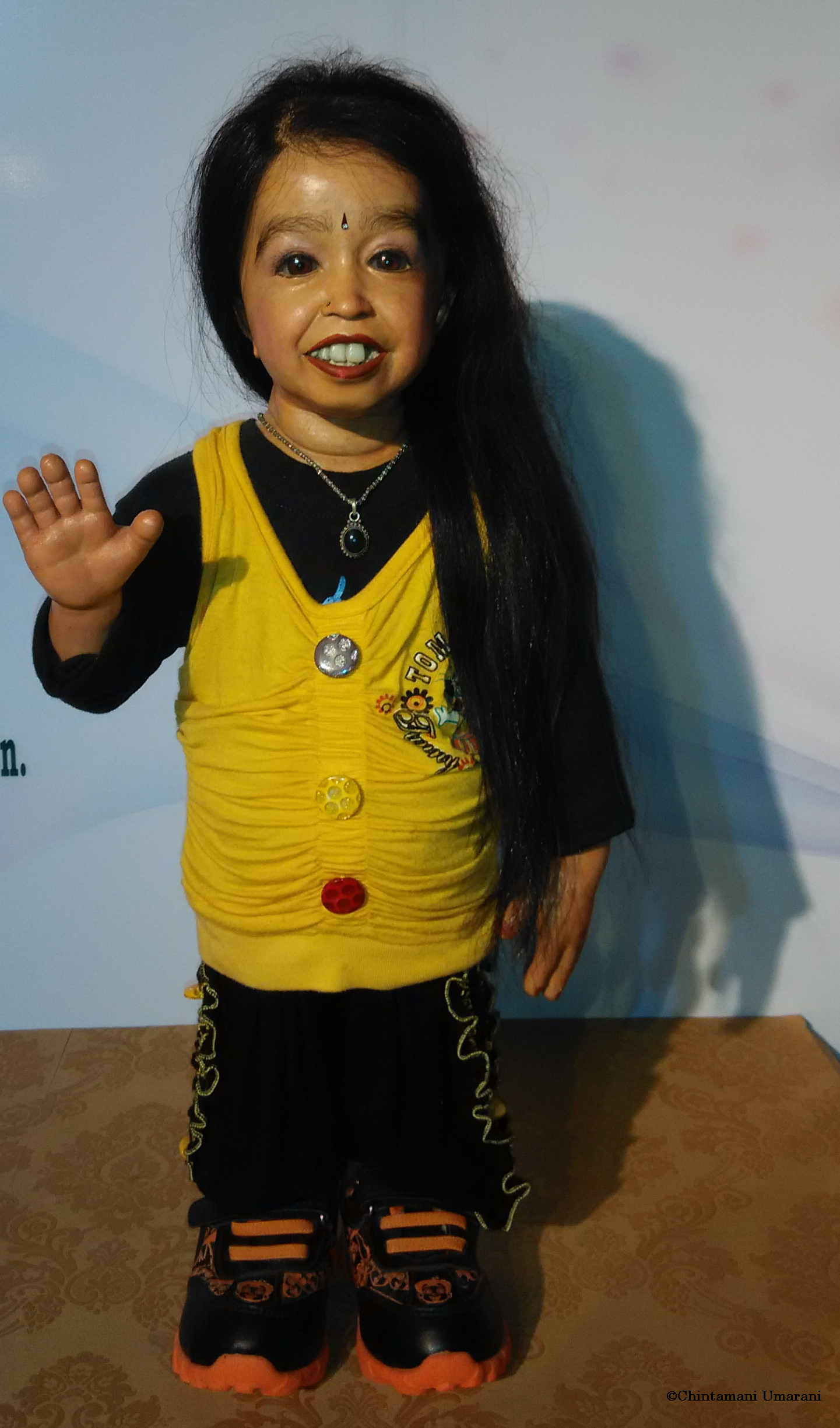 The smallest woman in the world 69