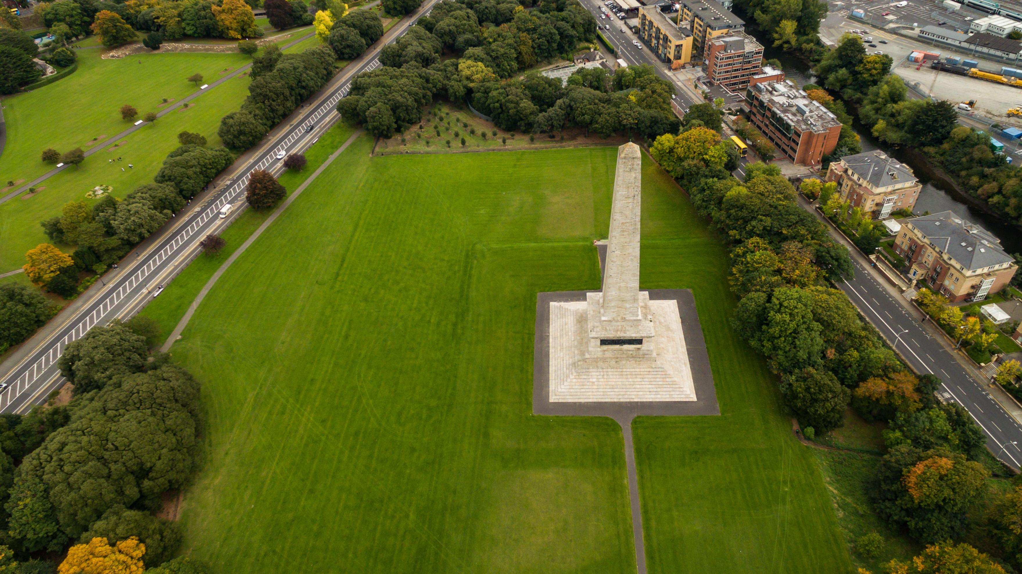 Wellington Denkmal In Dublin