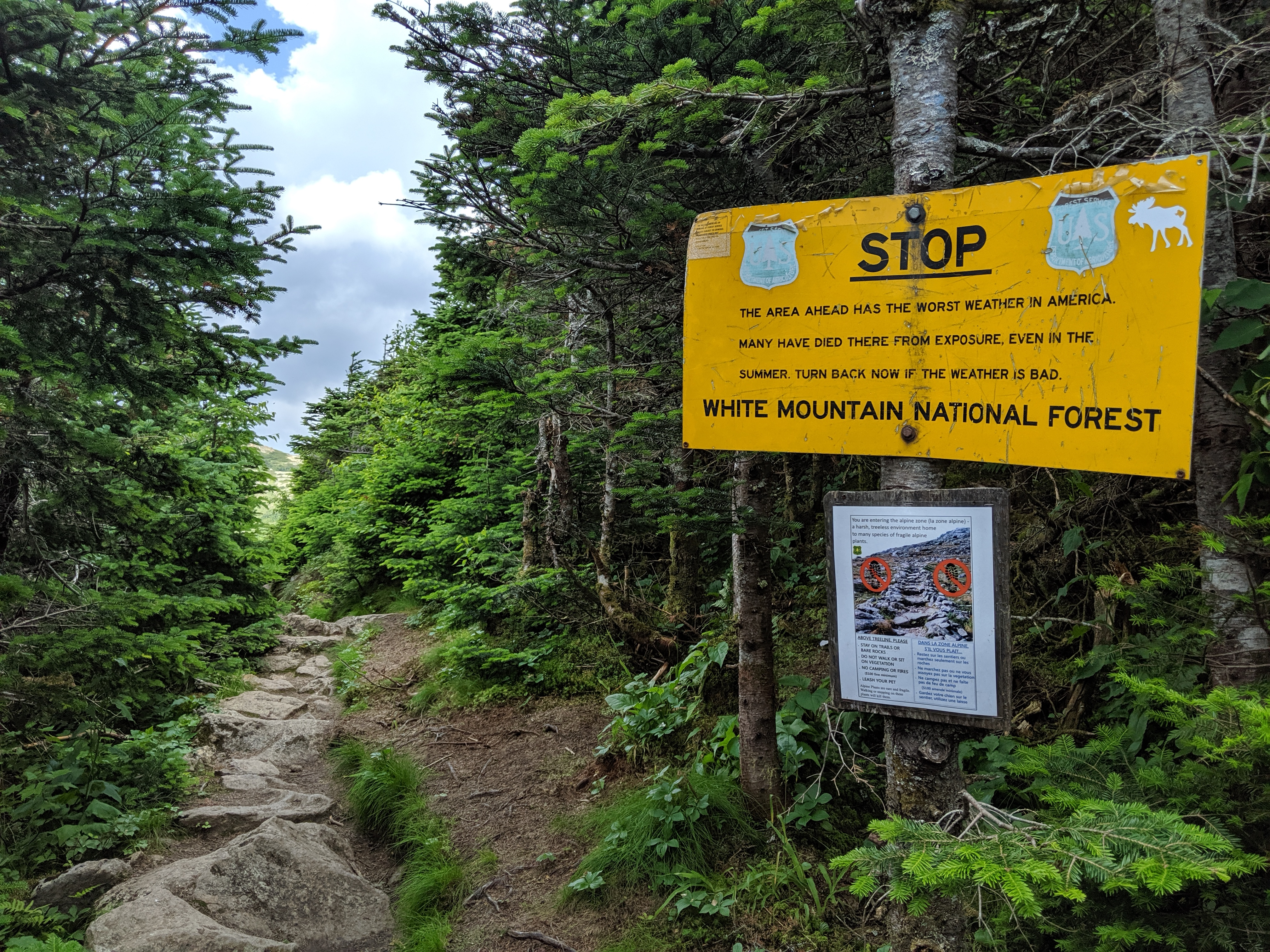 List of people who died on the Presidential Range - Wikipedia