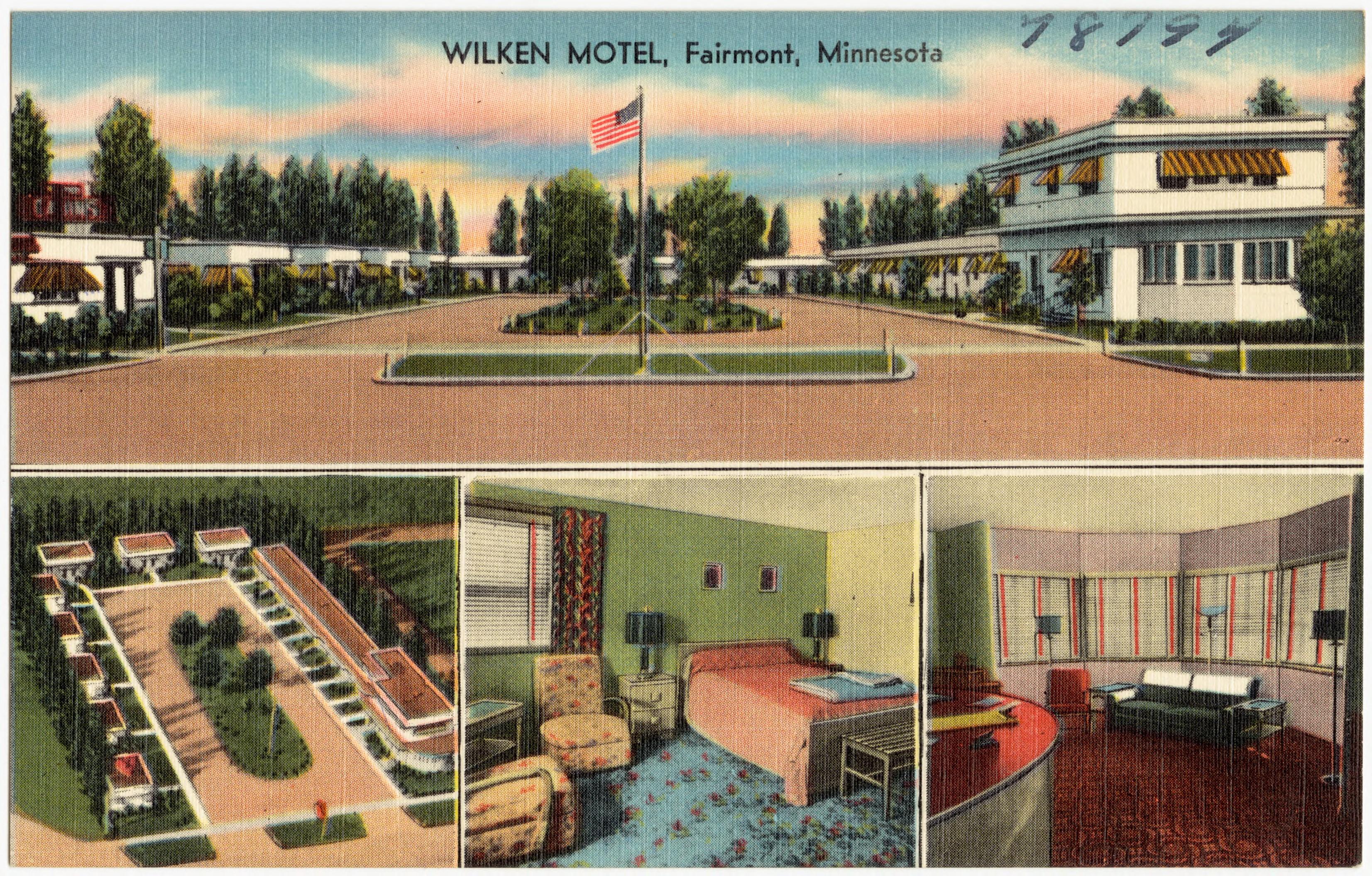 File Wilken Motel Fairmont Minnesota 78794 Jpg