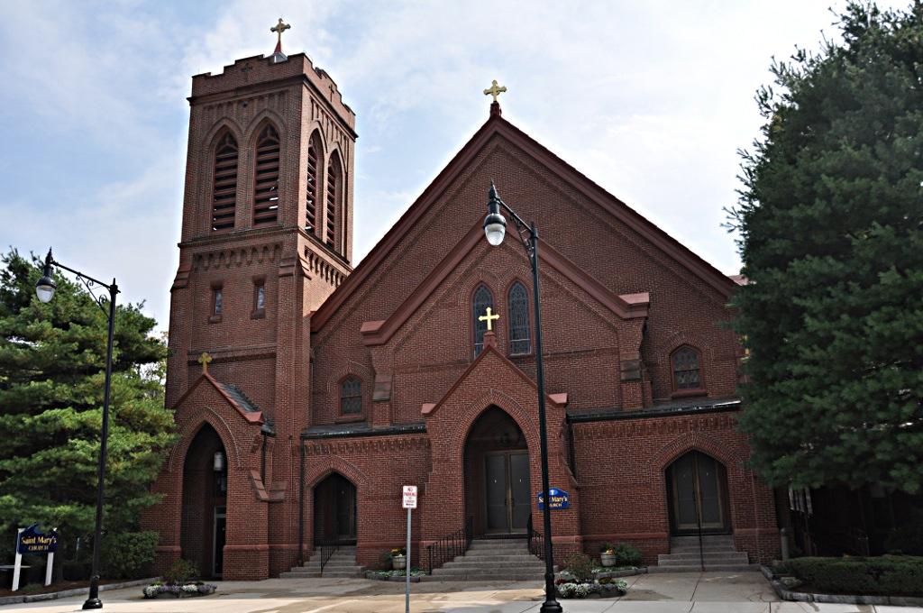 St Mary S Catholic Church Winchester Massachusetts