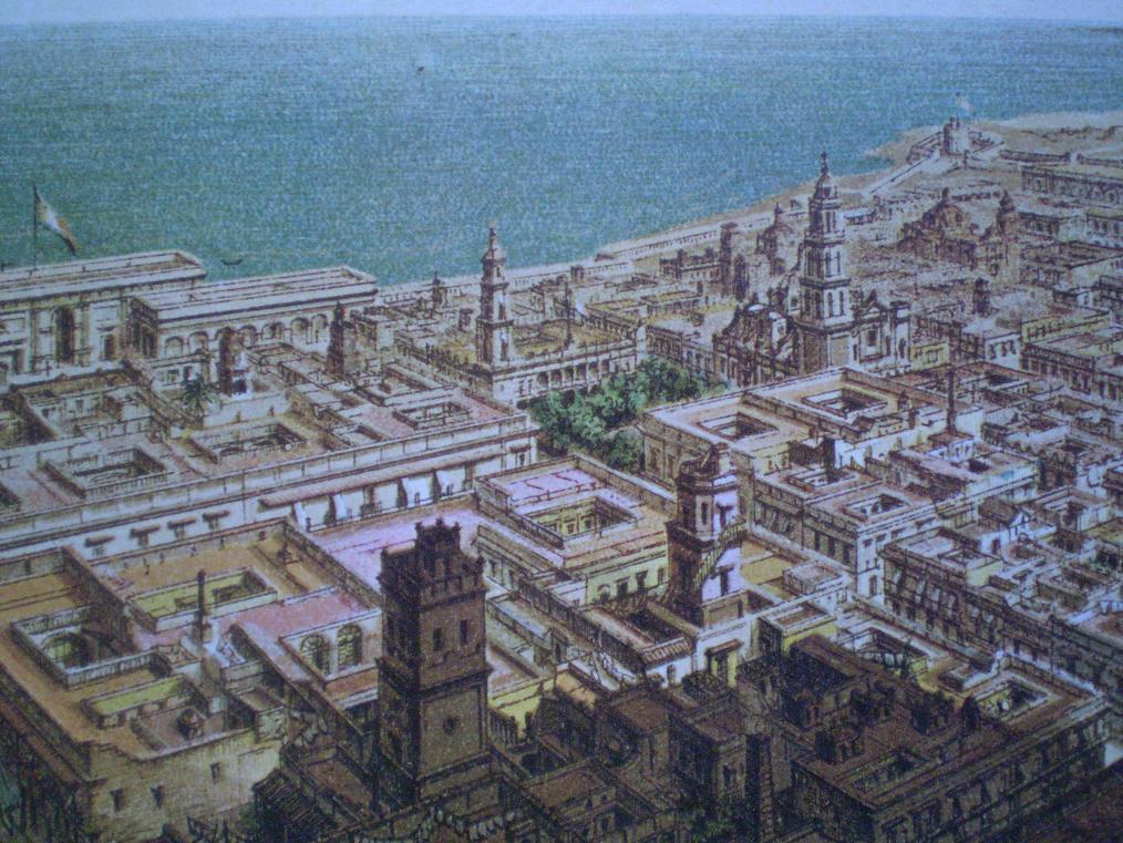 City map Veracruz Mexico