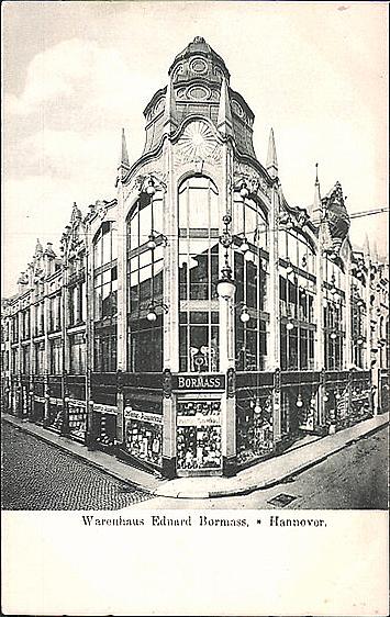 ff3176f1187c78 Datei 1908 circa Warenhaus Eduard Bormass in Hannover