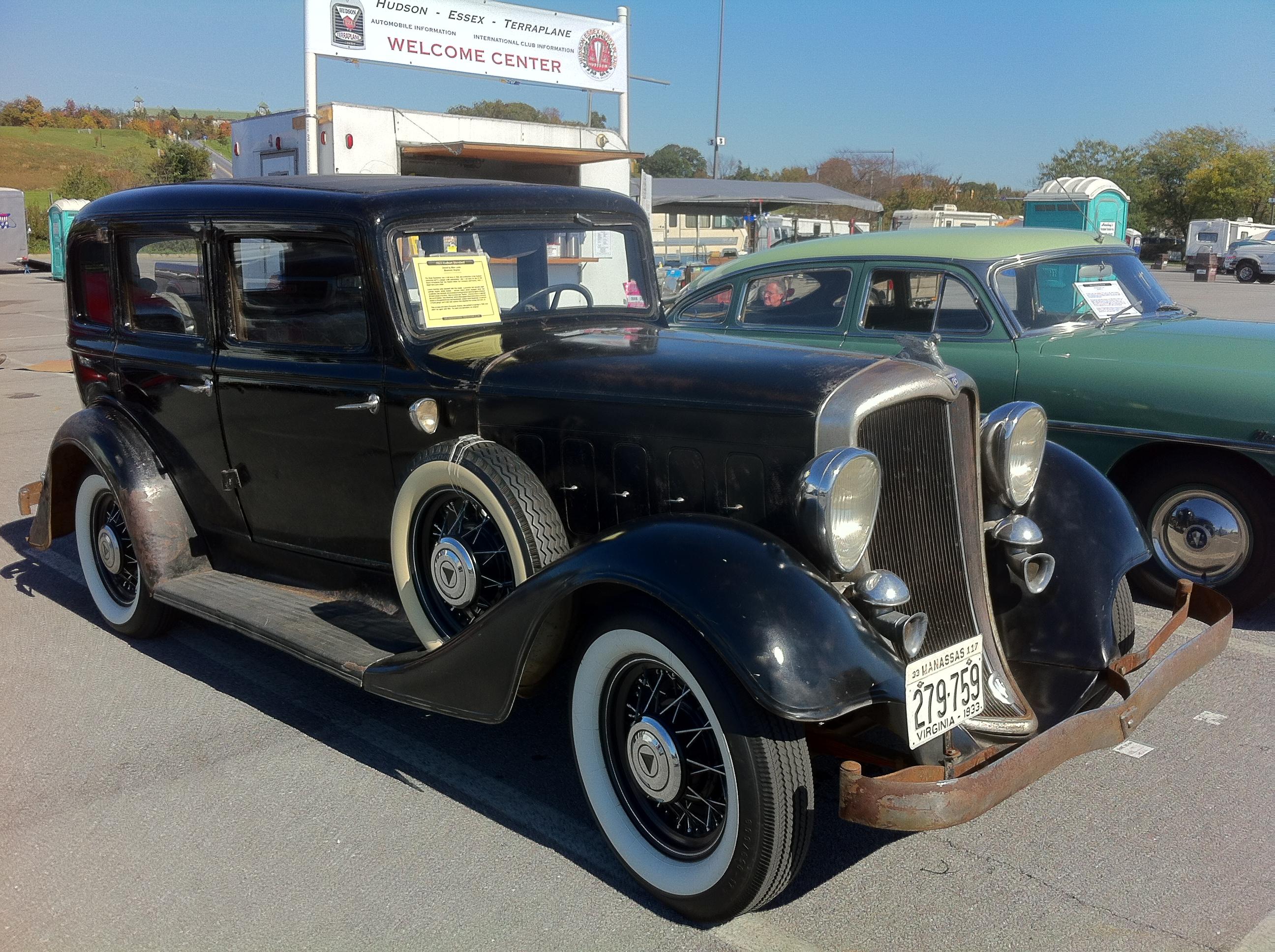 File 1933 Hudson Sedan Hershey 2012 Het Club Jpg