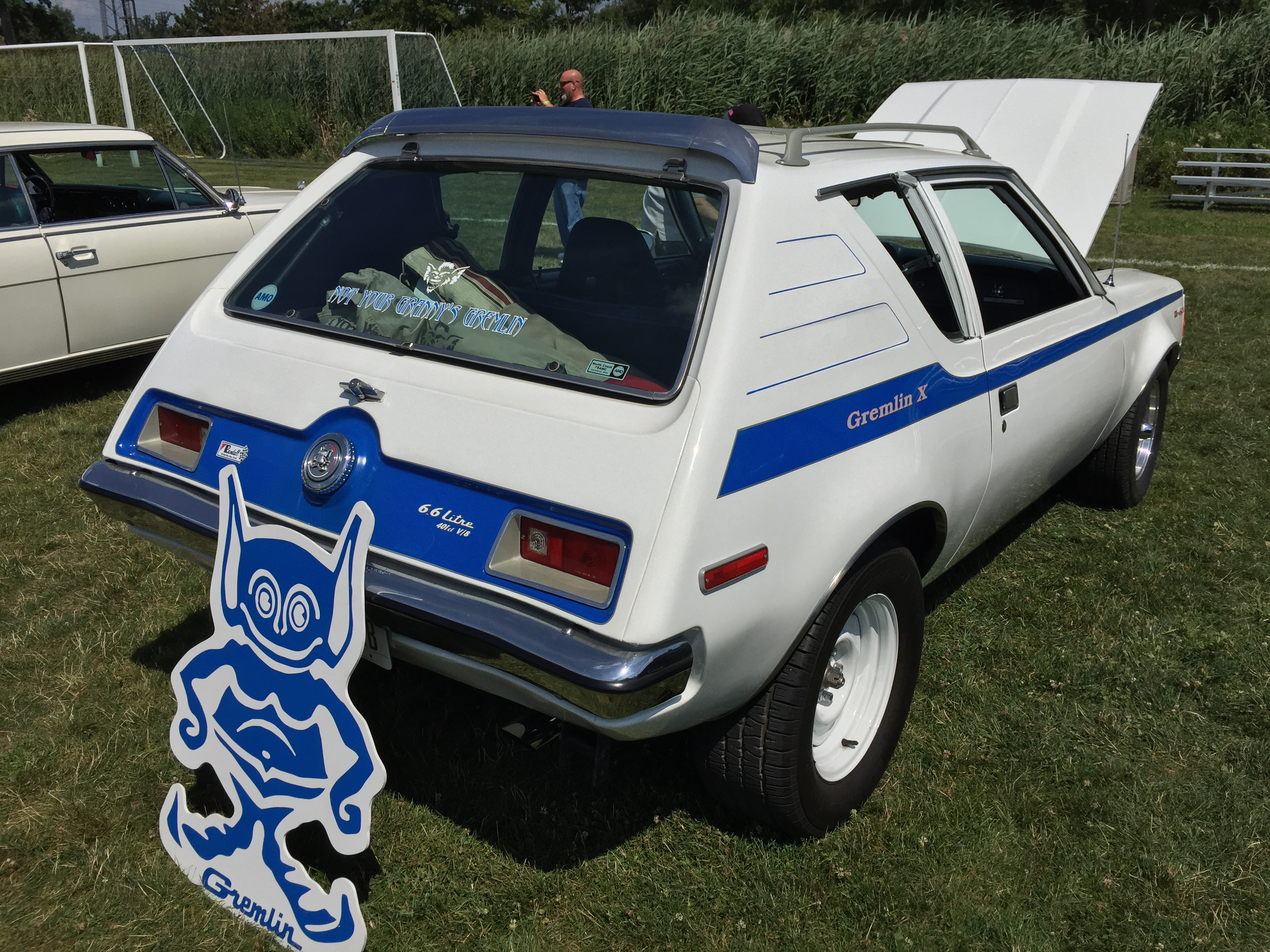 file 1972 amc gremlin built as randall 401 xr modification with 6 6
