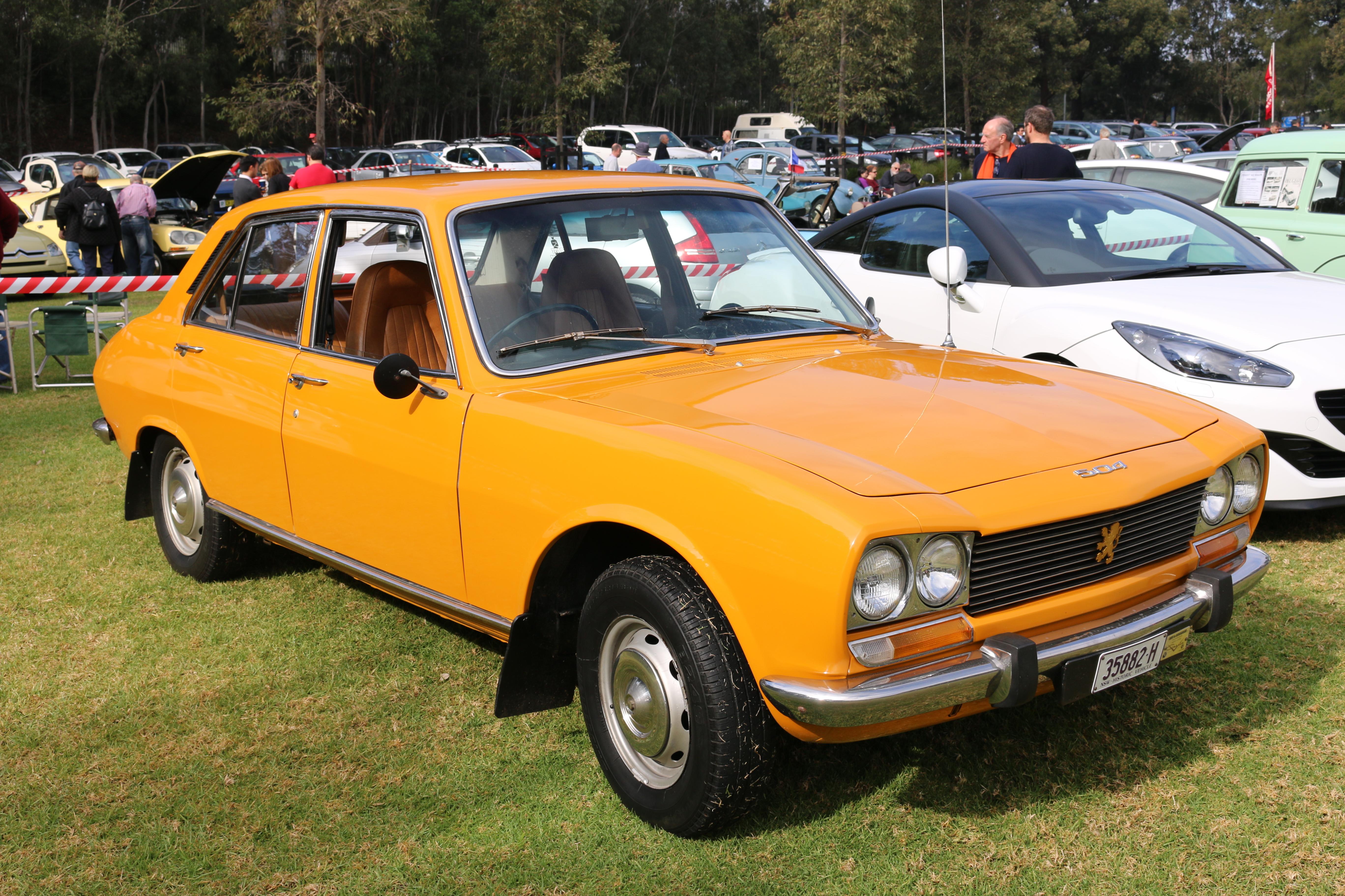 File 1974 Peugeot 504 Gl Sedan 28379130664 Jpg Wikimedia Commons