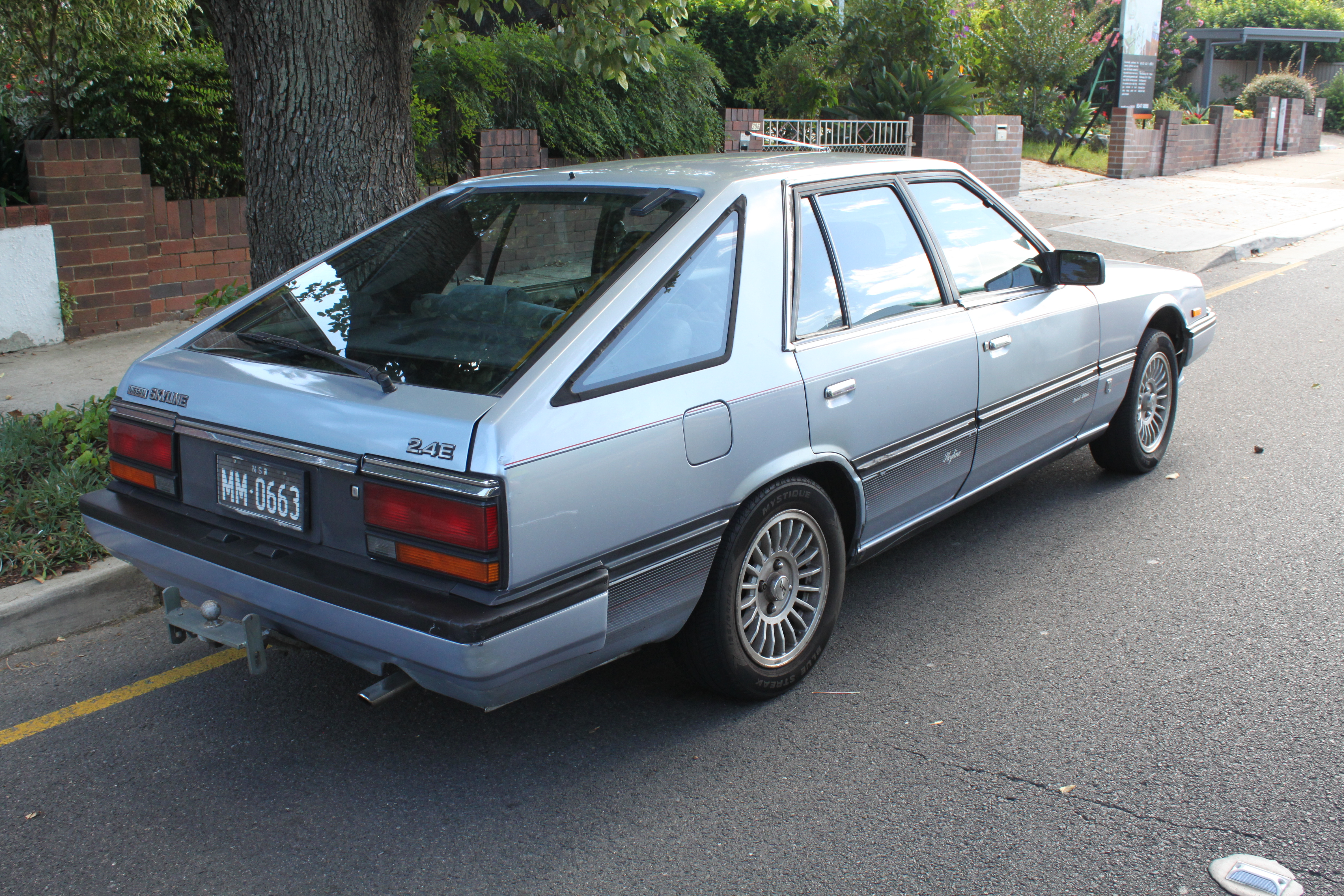 File:1984 Nissan Skyline (R30) Ti Special Edition 2.4E ...