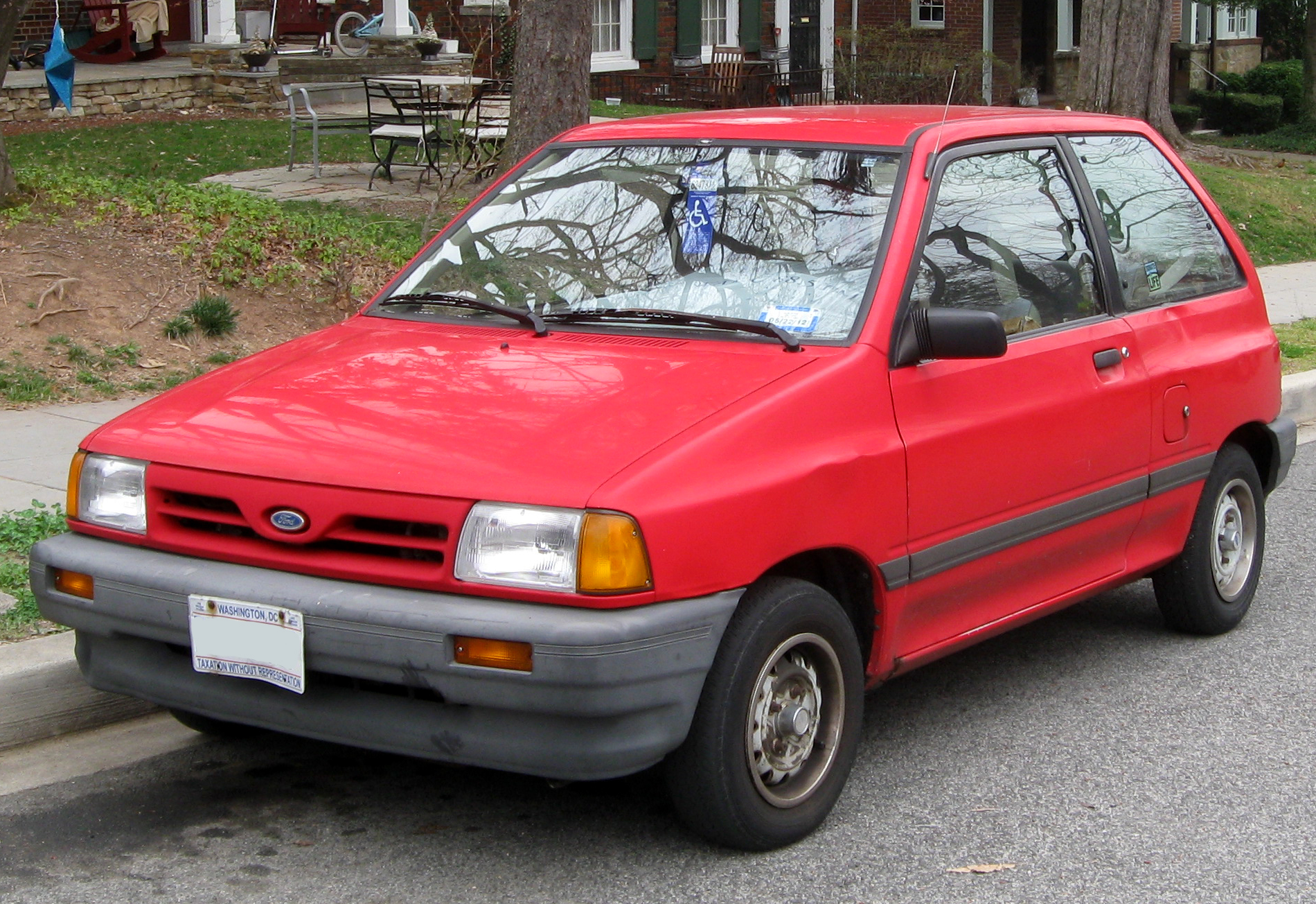 1990s small ford cars