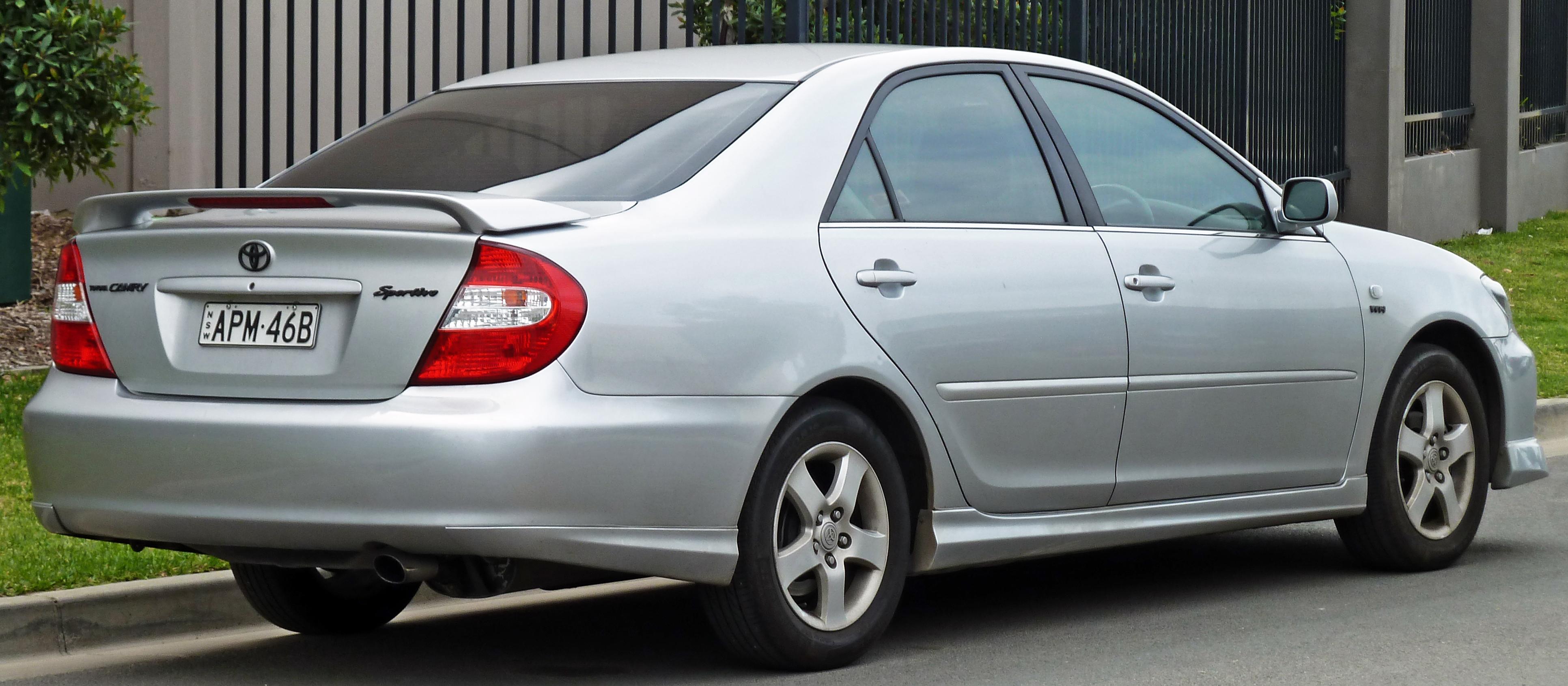 Тойота камри 2004 фото