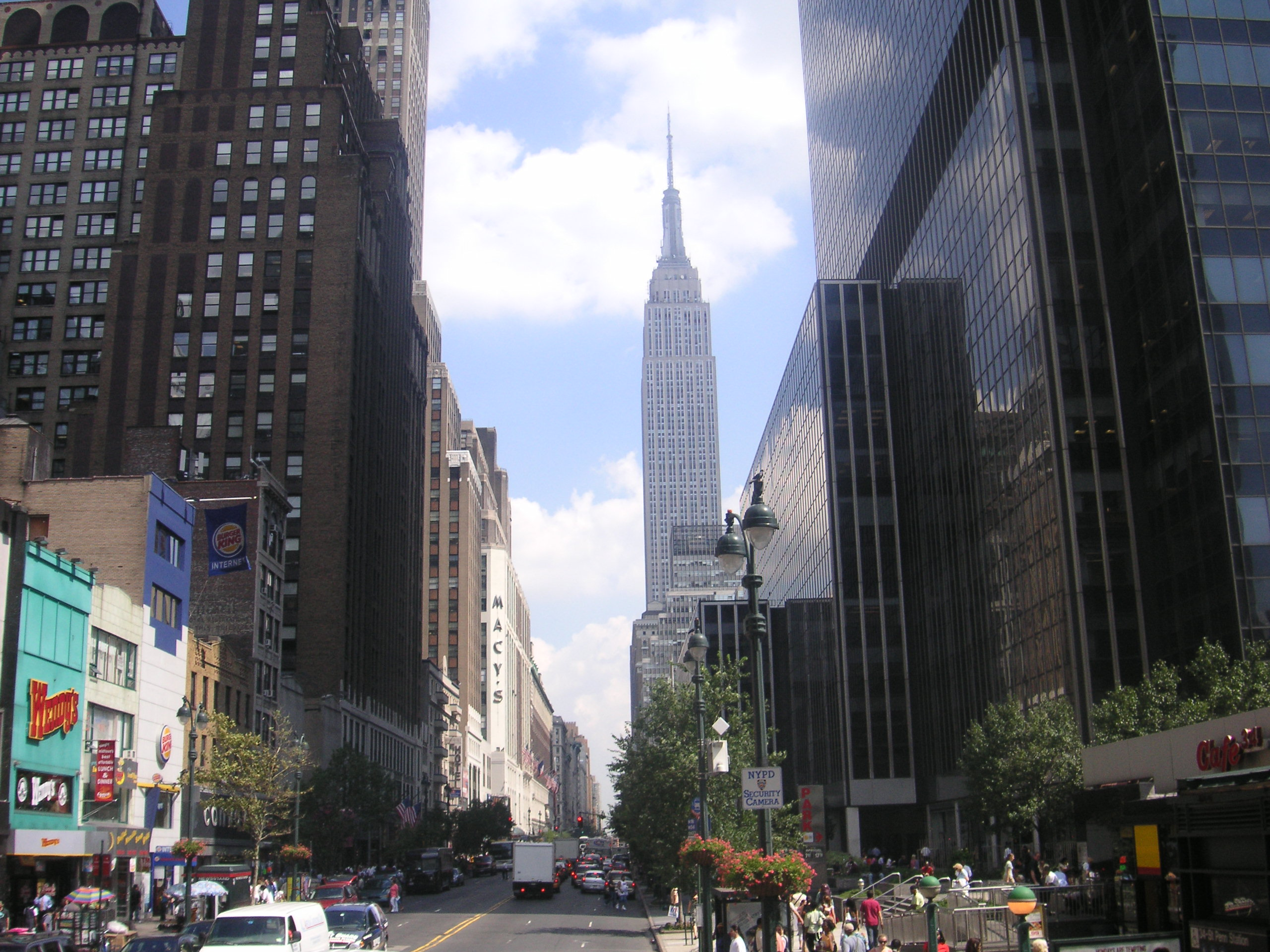 Empire State Building Th August