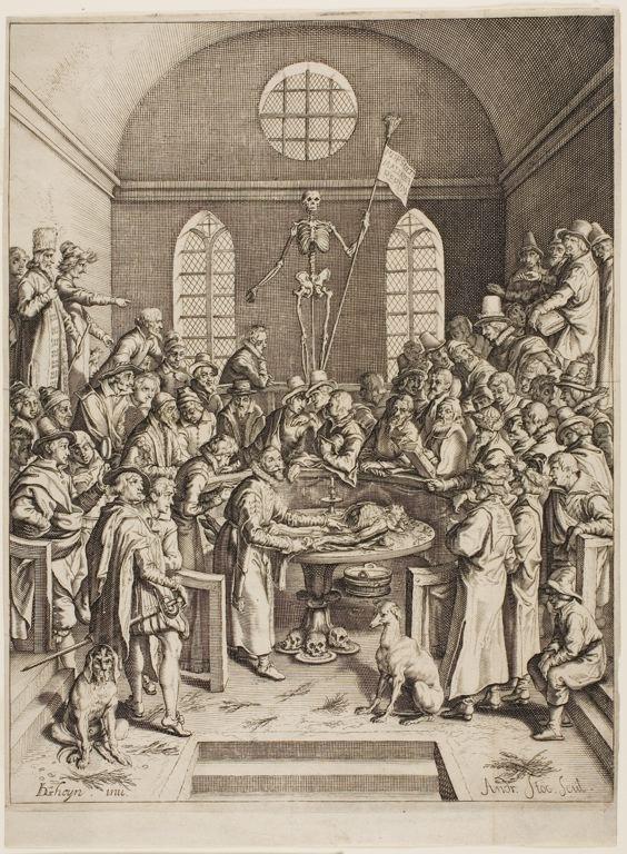 Filea Depiction Of An Anatomical Theatreeg Wikimedia Commons