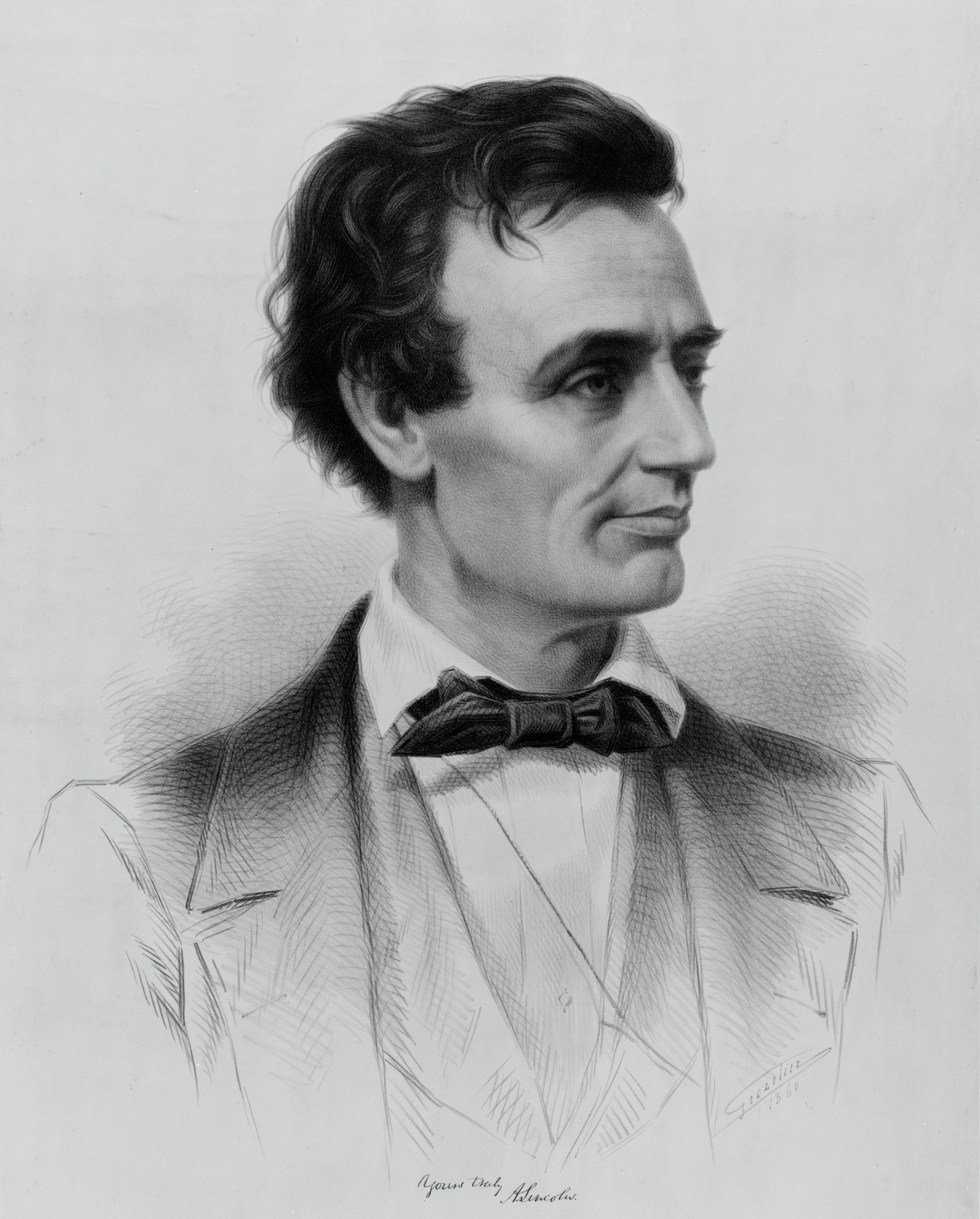 Abraham Lincoln, Republican candidate for the ...