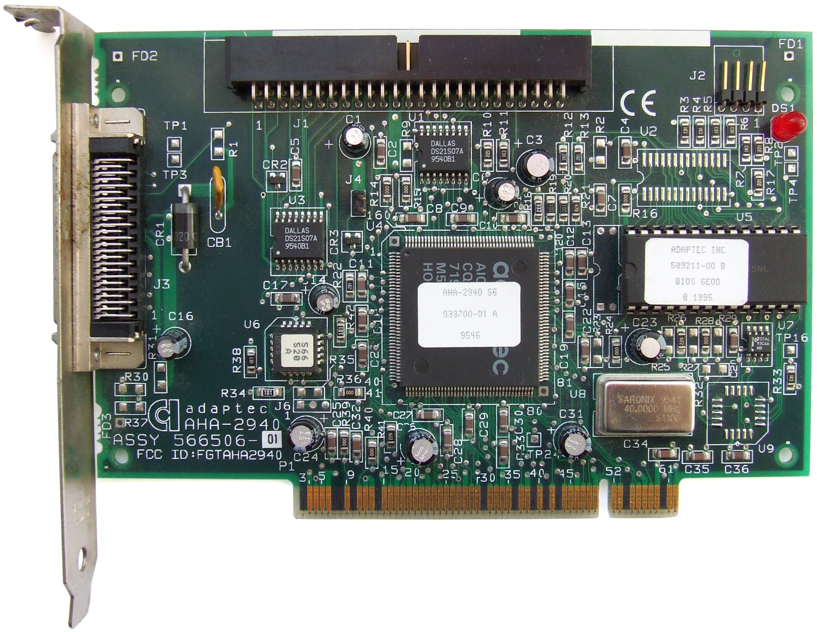 ADAPTEC AIC-7870 BASED PCI SCSI CONTROLLER DRIVERS FOR WINDOWS