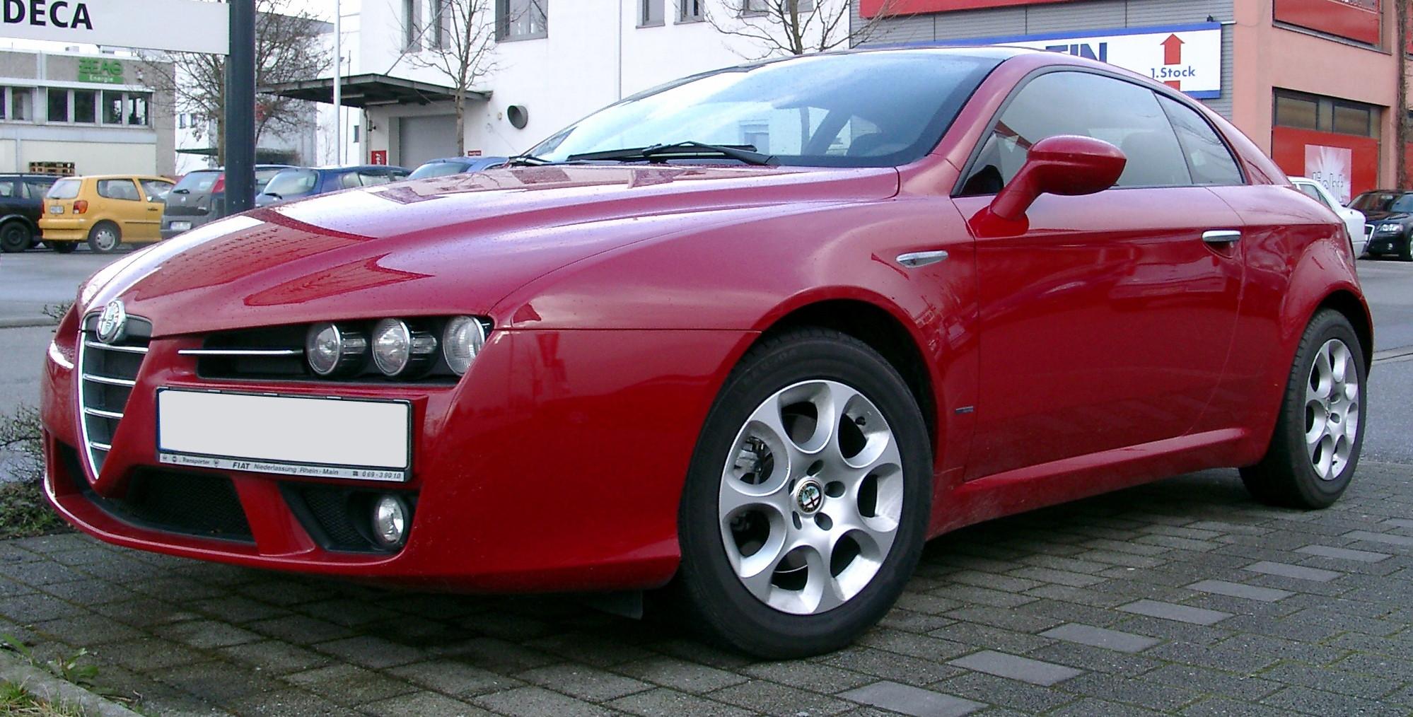 File:Alfa Romeo Brera Front 20070321.jpg - Wikimedia Commons