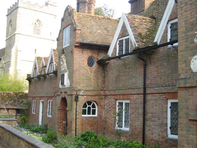 Almshouses, Church Street, Quainton - geograph.org.uk - 435713