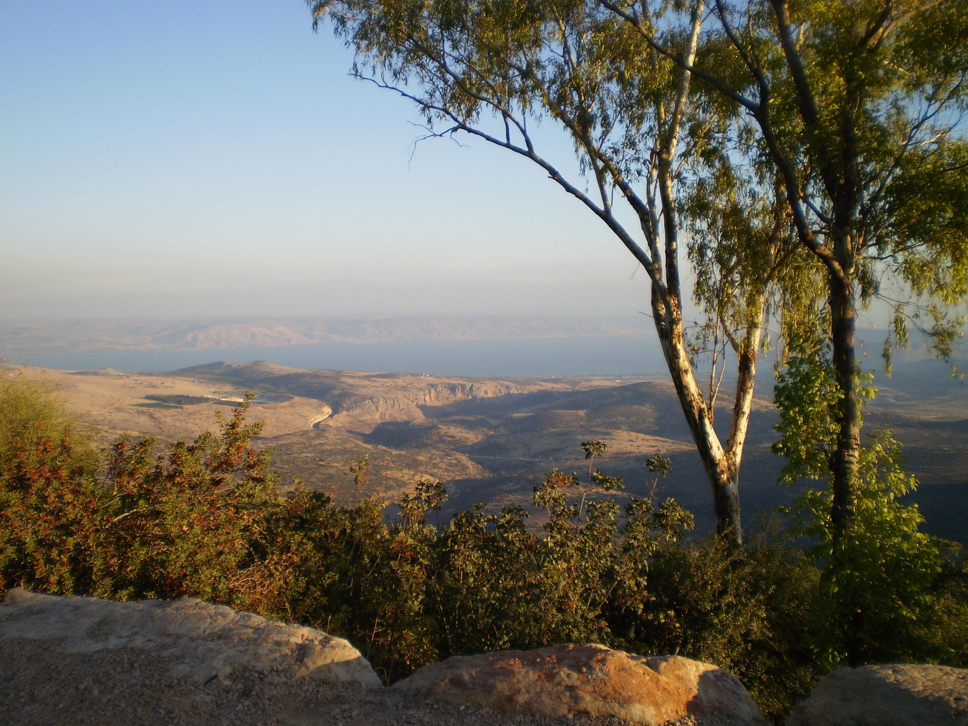 Amirim Israel  city images : Amirim, view of Kinneret Wikimedia Commons