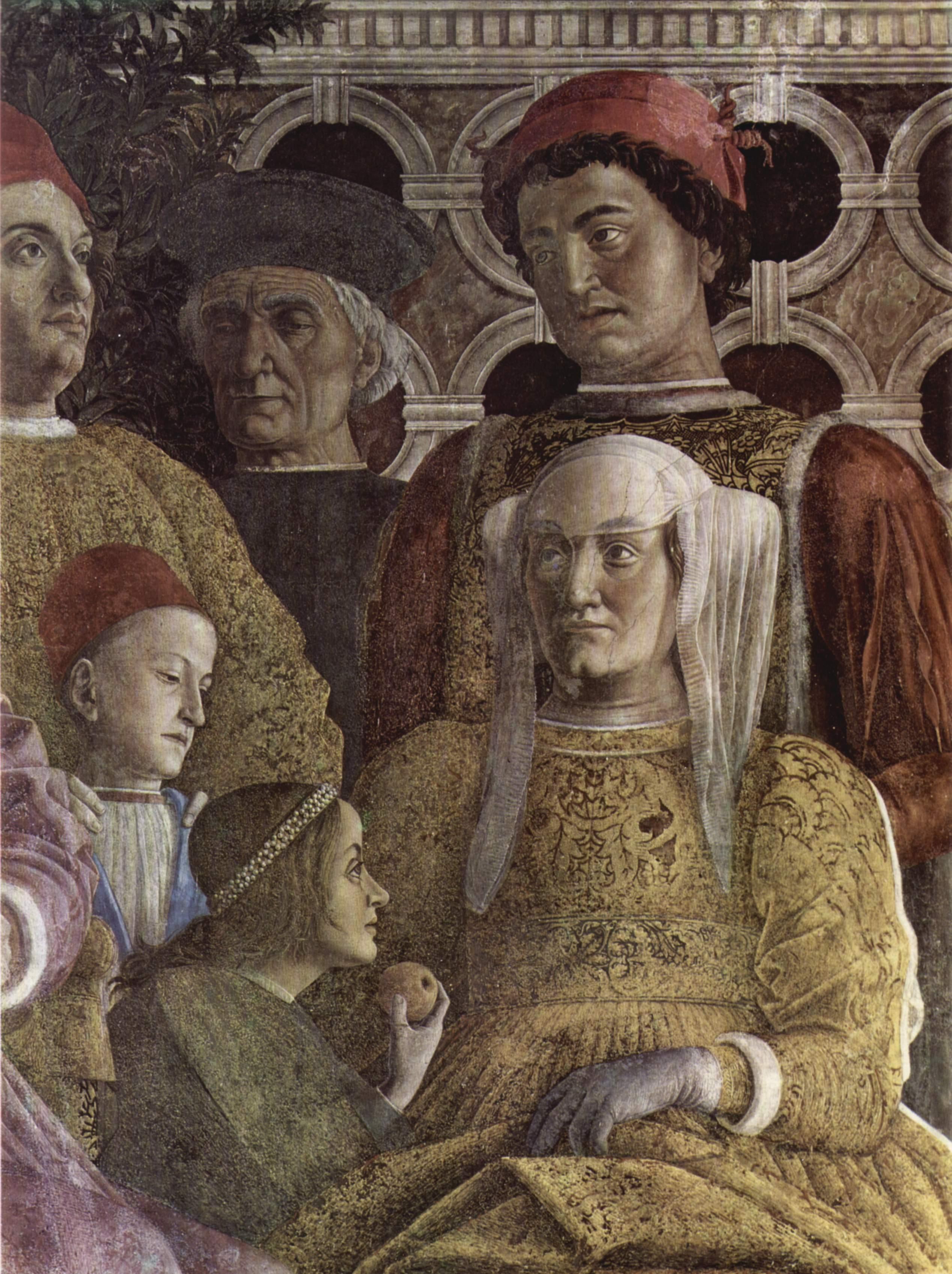 File andrea mantegna for La camera degli sposi di andrea mantegna