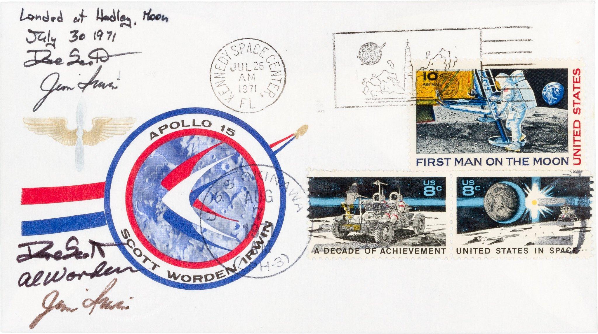 Apollo 15 postal covers incident - Wikipedia