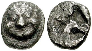 Image result for ancient greek coin obol