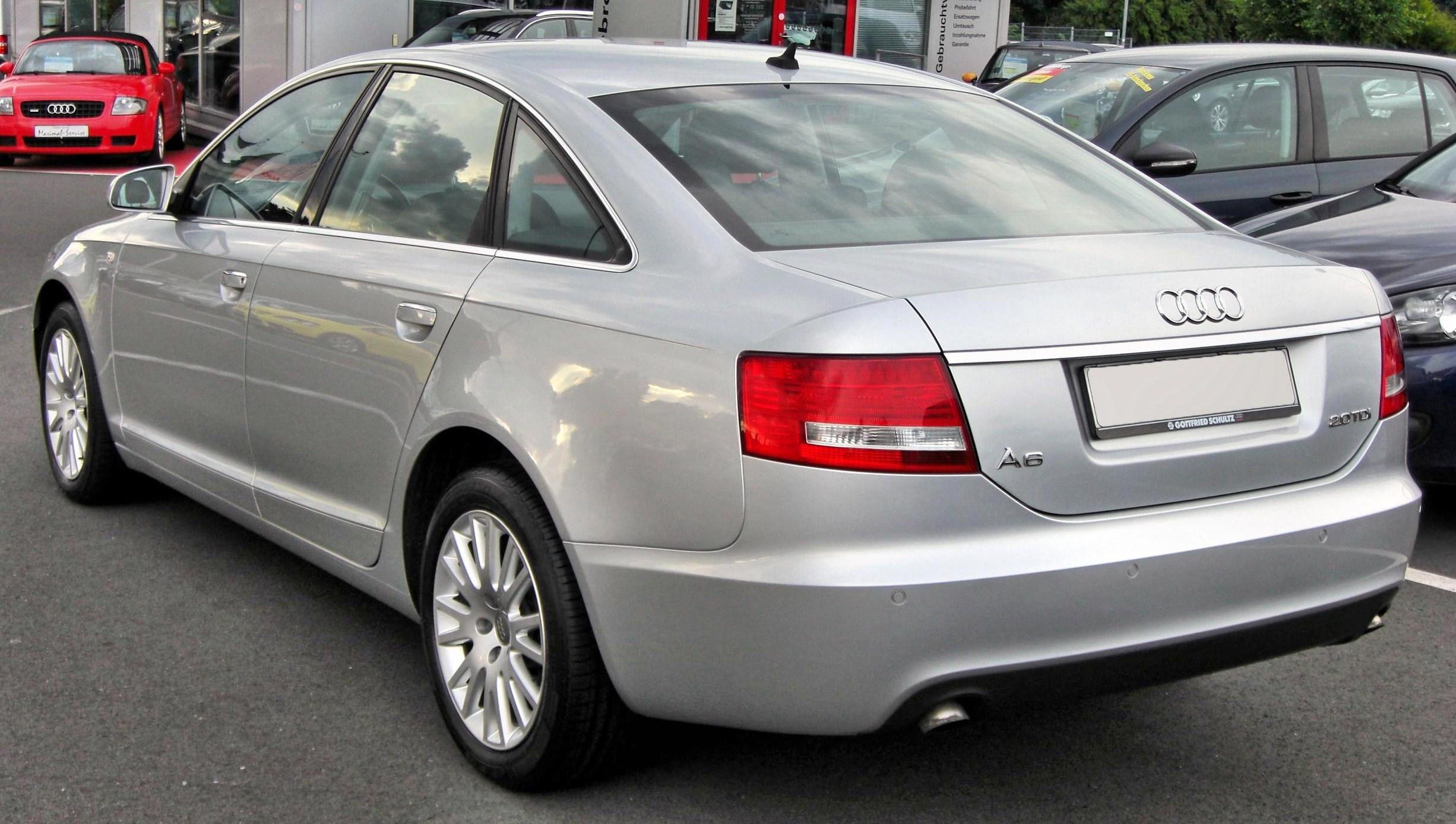 File Audi A6 C6 20090717 Rear Jpg Wikimedia Commons