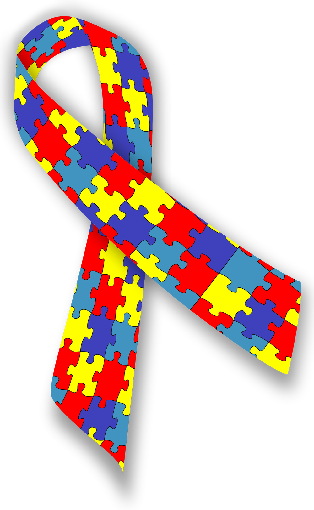 Image result for autism awareness puzzle ribbon