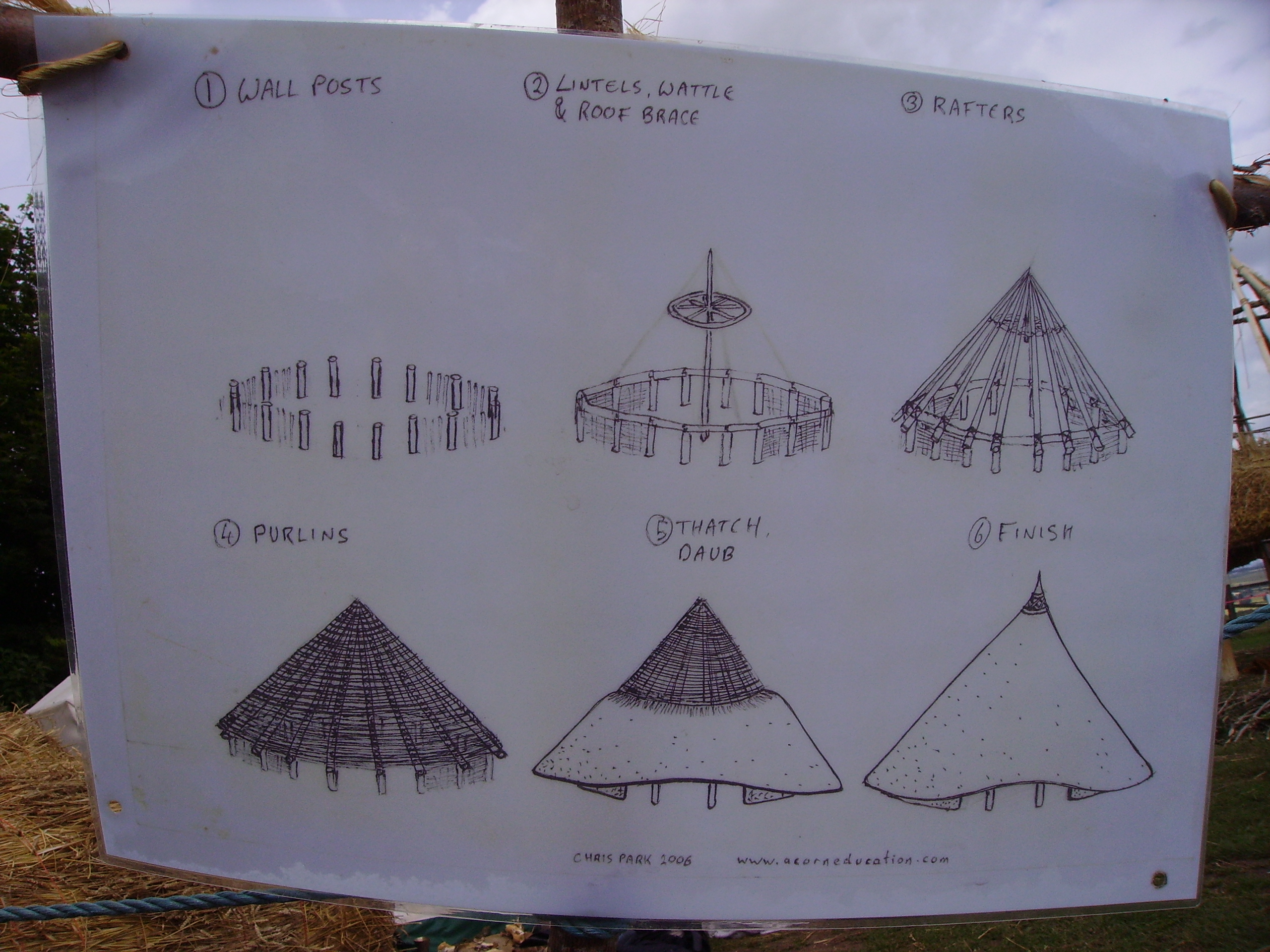 File barbury castle iron age house plans jpg for House plans round home design