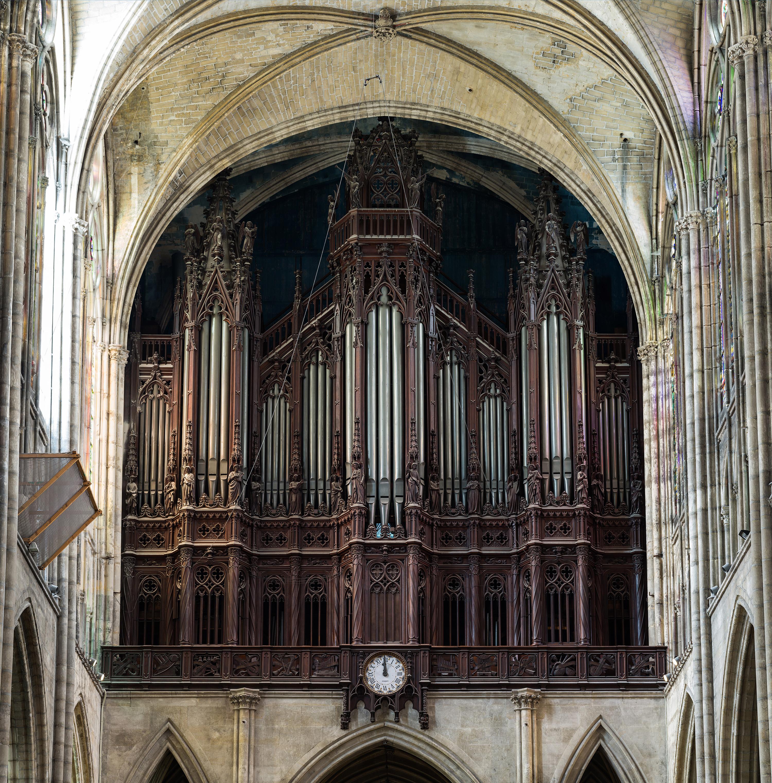 file basilica of saint denis organ paris france wikimedia commons. Black Bedroom Furniture Sets. Home Design Ideas