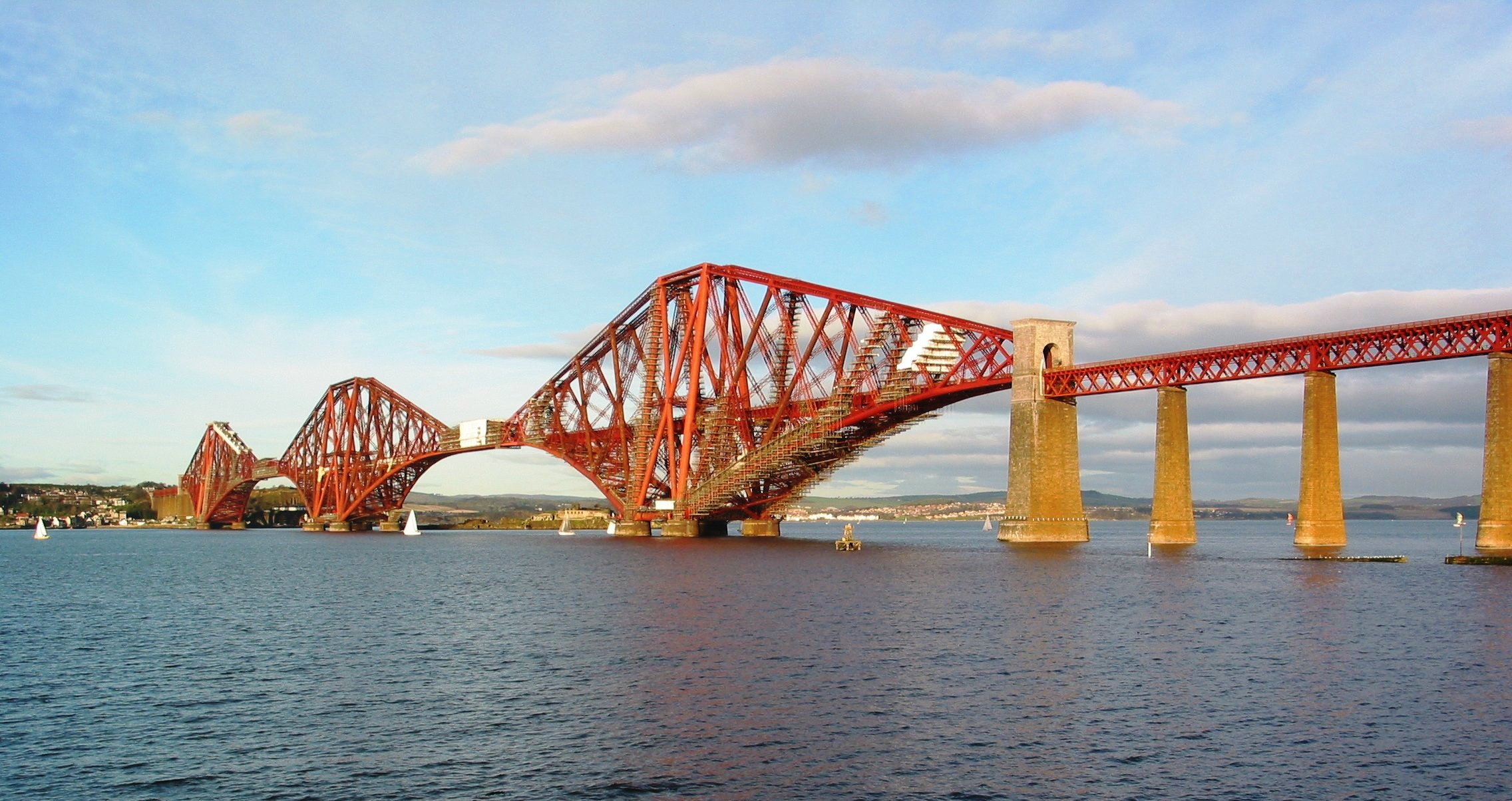 Depiction of Forth Bridge