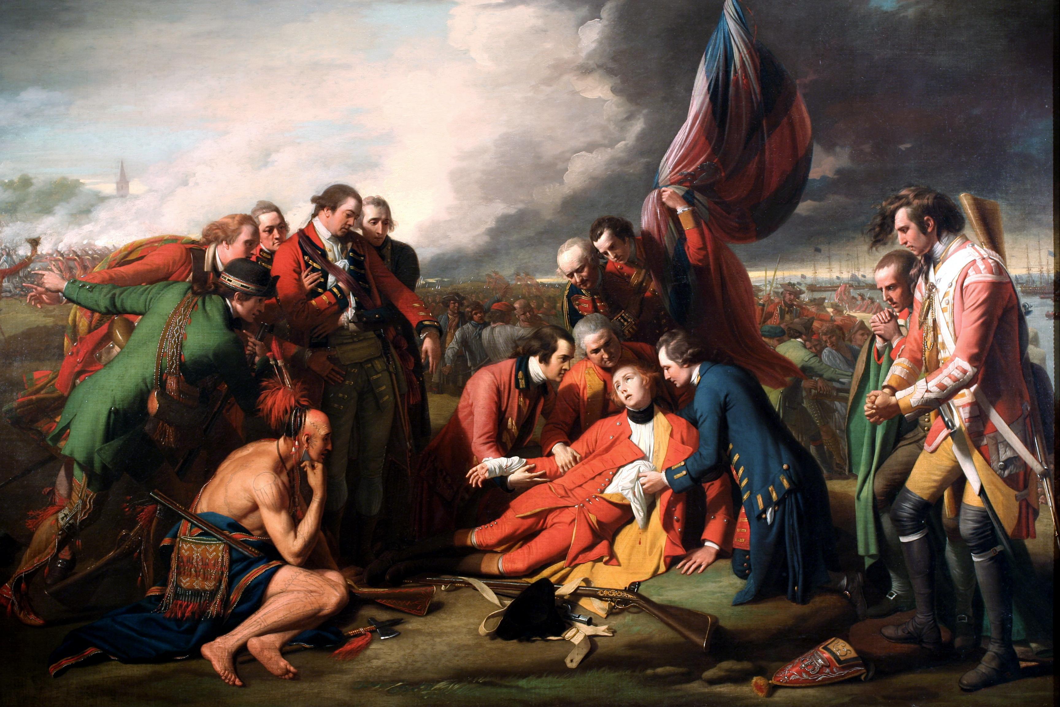 Benjamin West, Kenraali Wolfen kuolema, 1770.