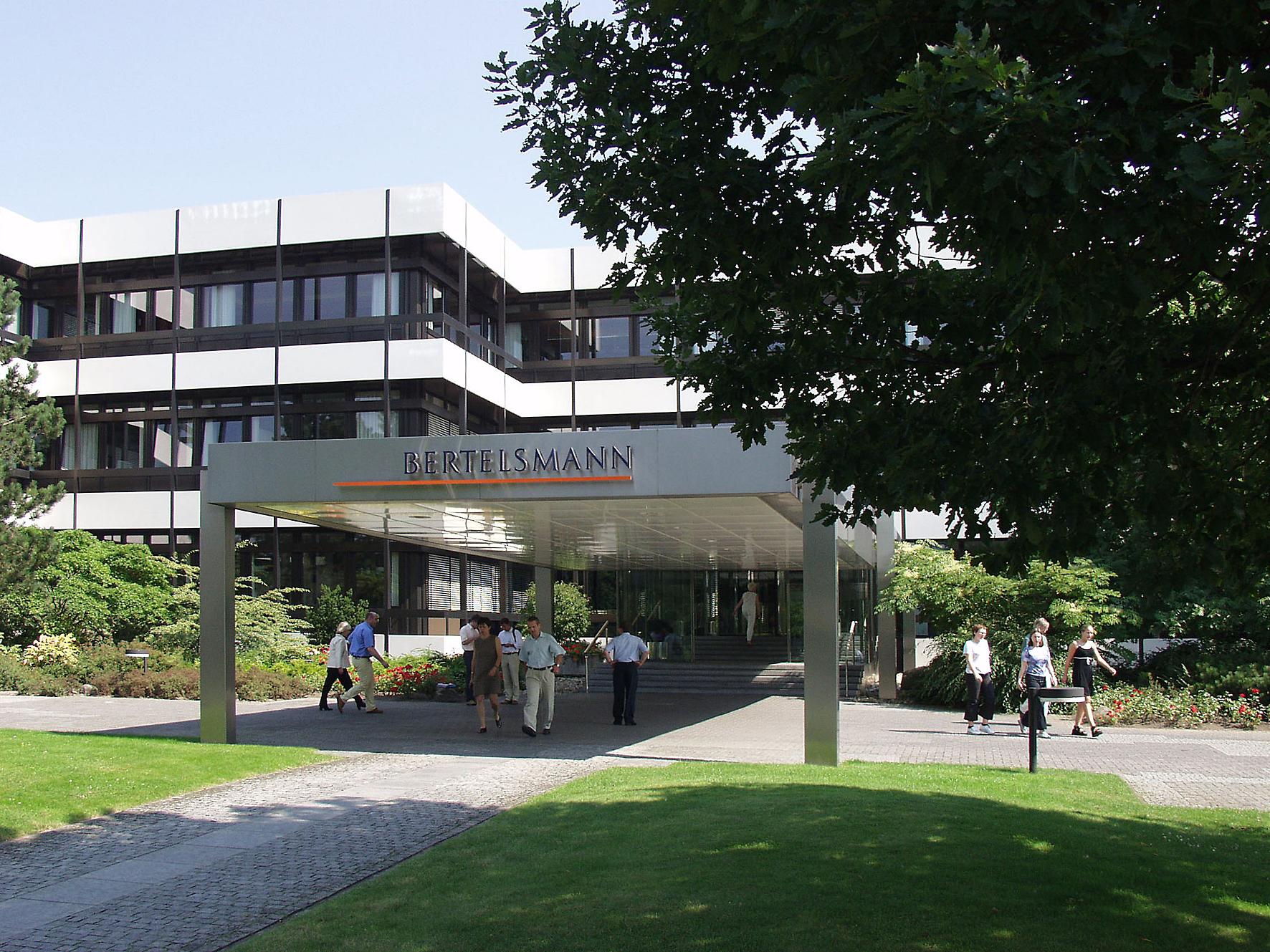 Unternehmenssitz von Bertelsmann in Gütersloh