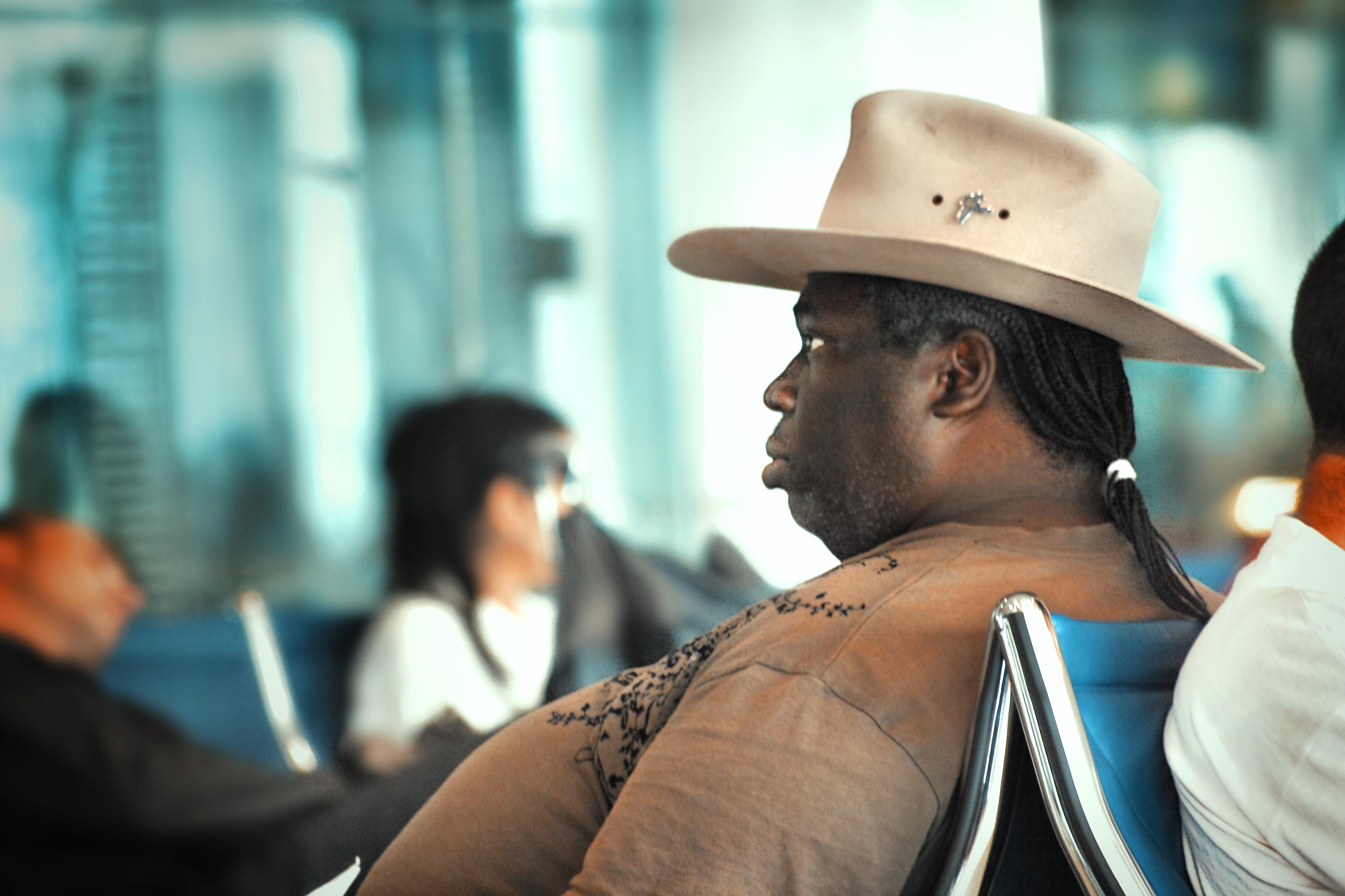 Fat Guy In Cowboy Hat
