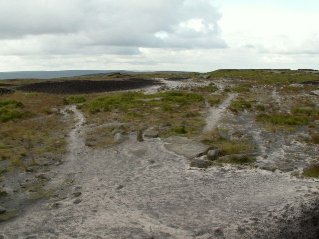 Bleaklow Head from the cairn - geograph.org.uk - 856567