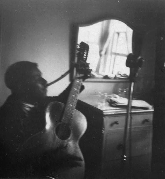 Blind Willie Recording Session