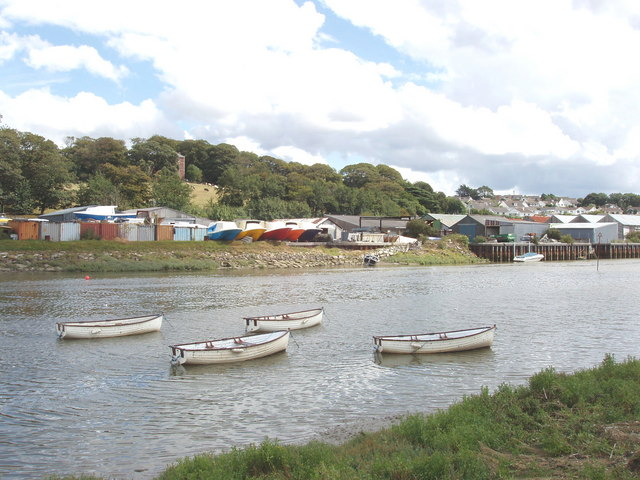 Boats on the Camel at Wadebridge - geograph.org.uk - 221903