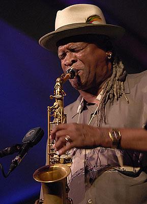 Saxophonist Bobby Watson