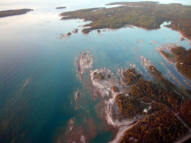 Praias do Canadá