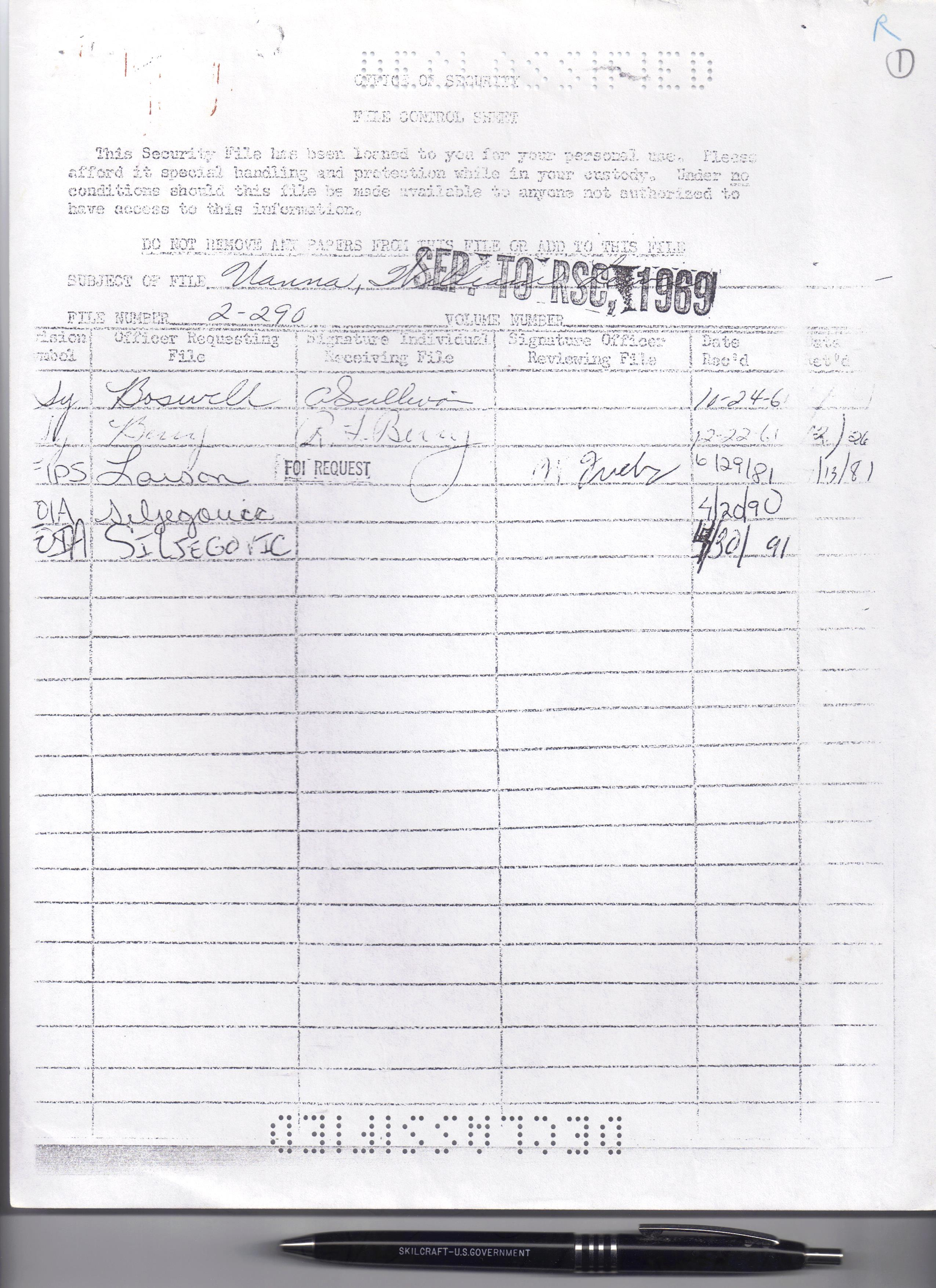 File:Bud Uanna A Declassified Document - Cover Sheet from FOI ...