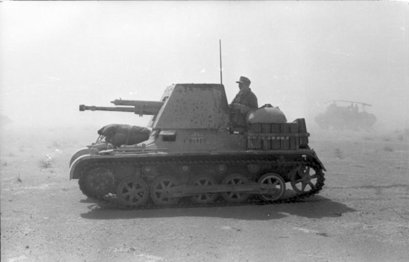 The Panzerjäger I was a modified PzKpfw I Ausf B which mounted a 47mm anti-tank gun
