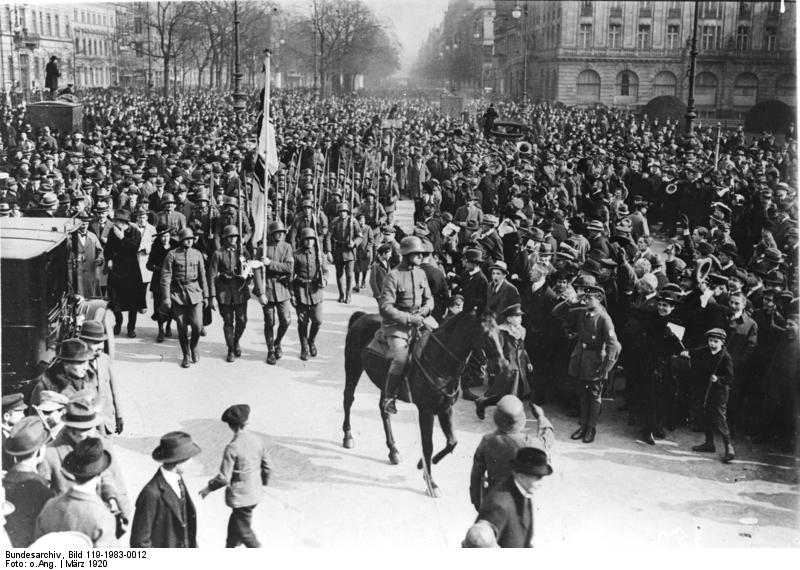 an analysis of police report of the munich putsch Sa: sa, in the german nazi  temporarily in disarray after the failure of hitler's munich putsch in 1923, the sa was reorganized in 1925 and soon resumed its .
