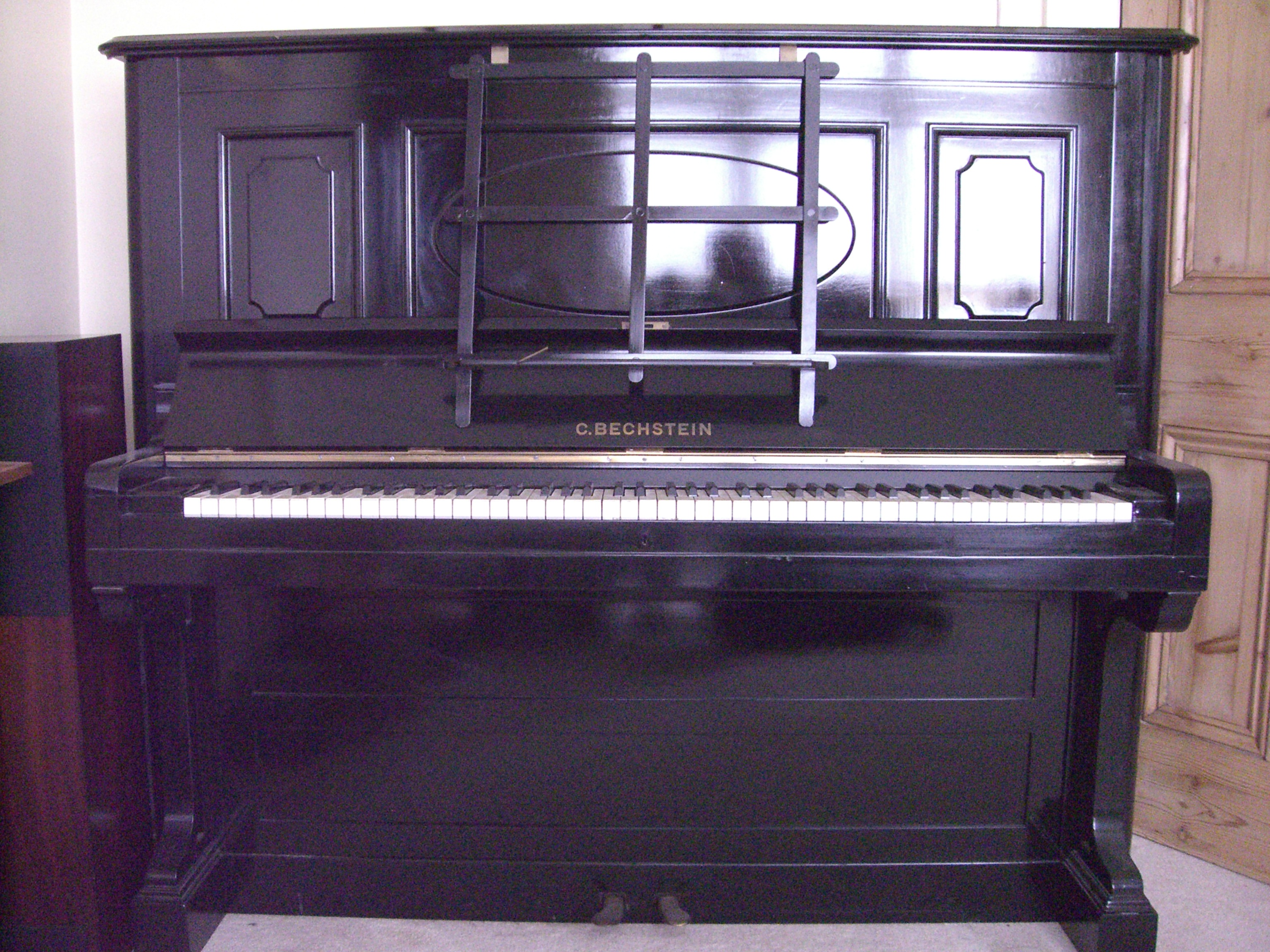 File C Bechstein Model 7 Upright Piano Concert