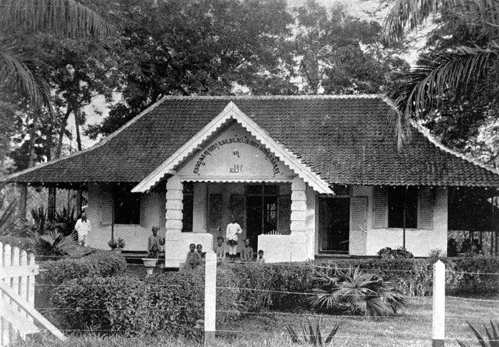 COLLECTIE TROPENMUSEUM Ziekenhuis te Tjid%C3%AAr%C3%AAs Cirebon Java. Nederlands Zendings Genootschap TMnr 10000787 Foto   Foto Orang Indonesia di Tahun 1908