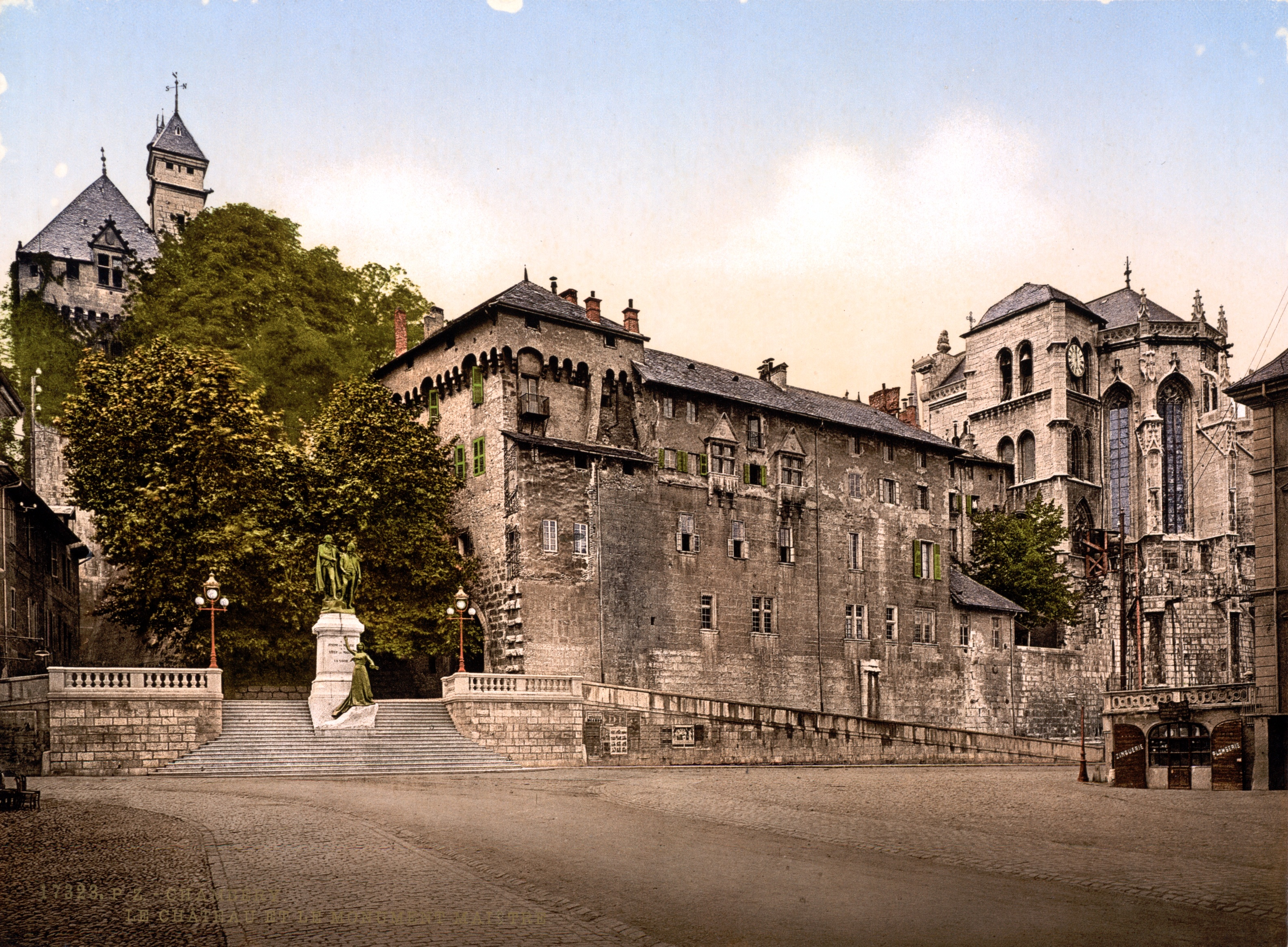 Chambery France  city pictures gallery : Description Castle and monument Maistre, Chambéry
