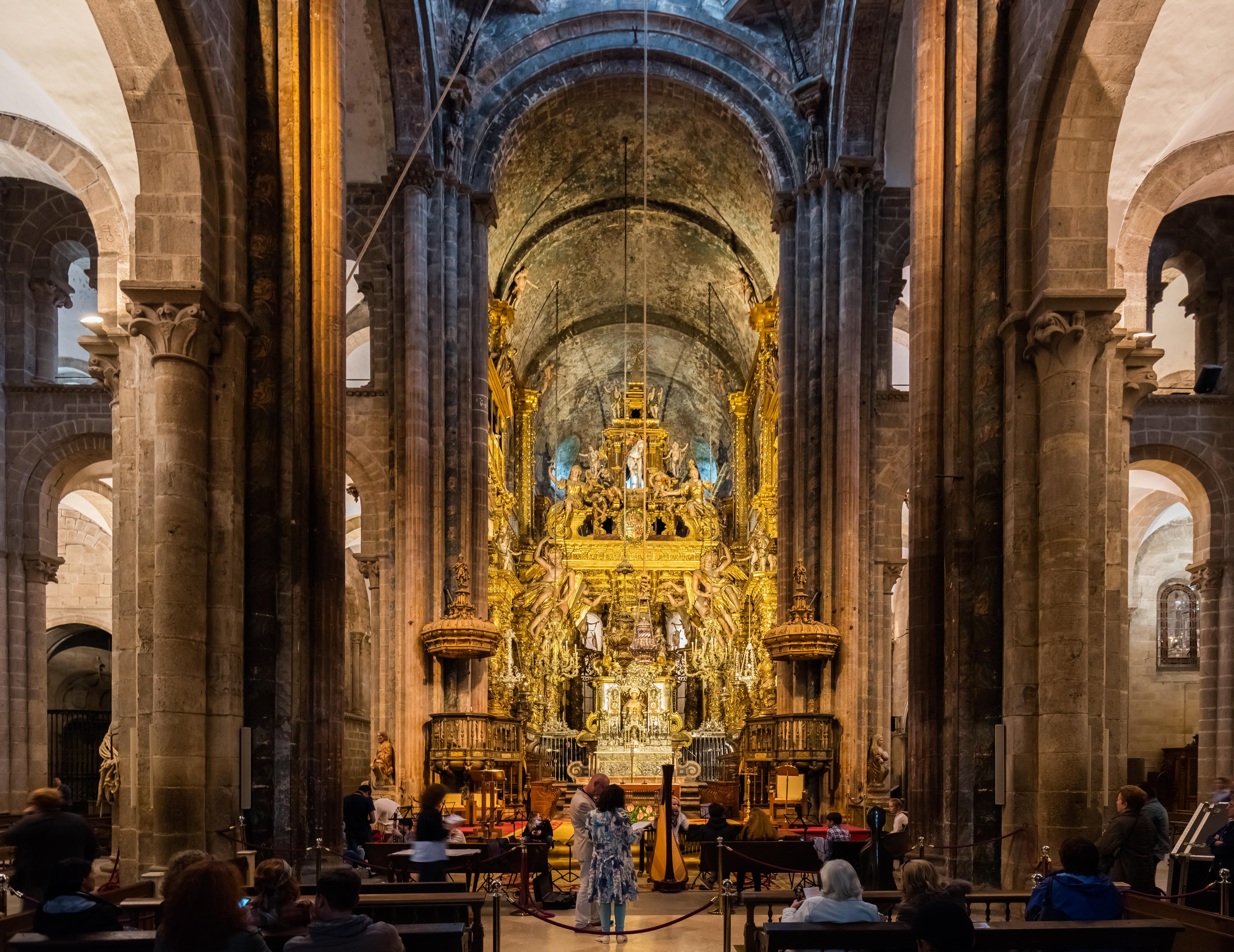 File:Catedral, Santiago de Compostela, España, 2015-09-22, DD 11.jpg - Wikime...