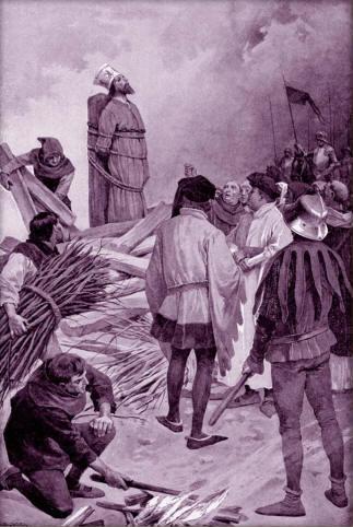 Cerny, Venceslav - Upaleni mistra Jana Husa
